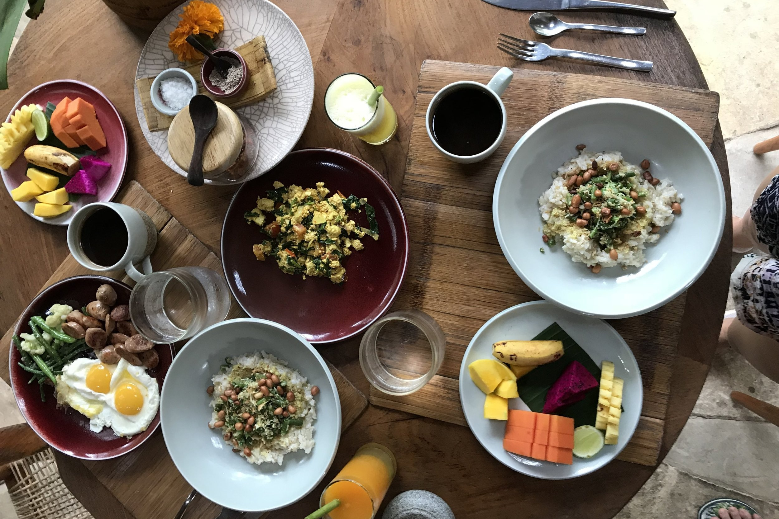 Bambu Indah Ubud – Breakfast