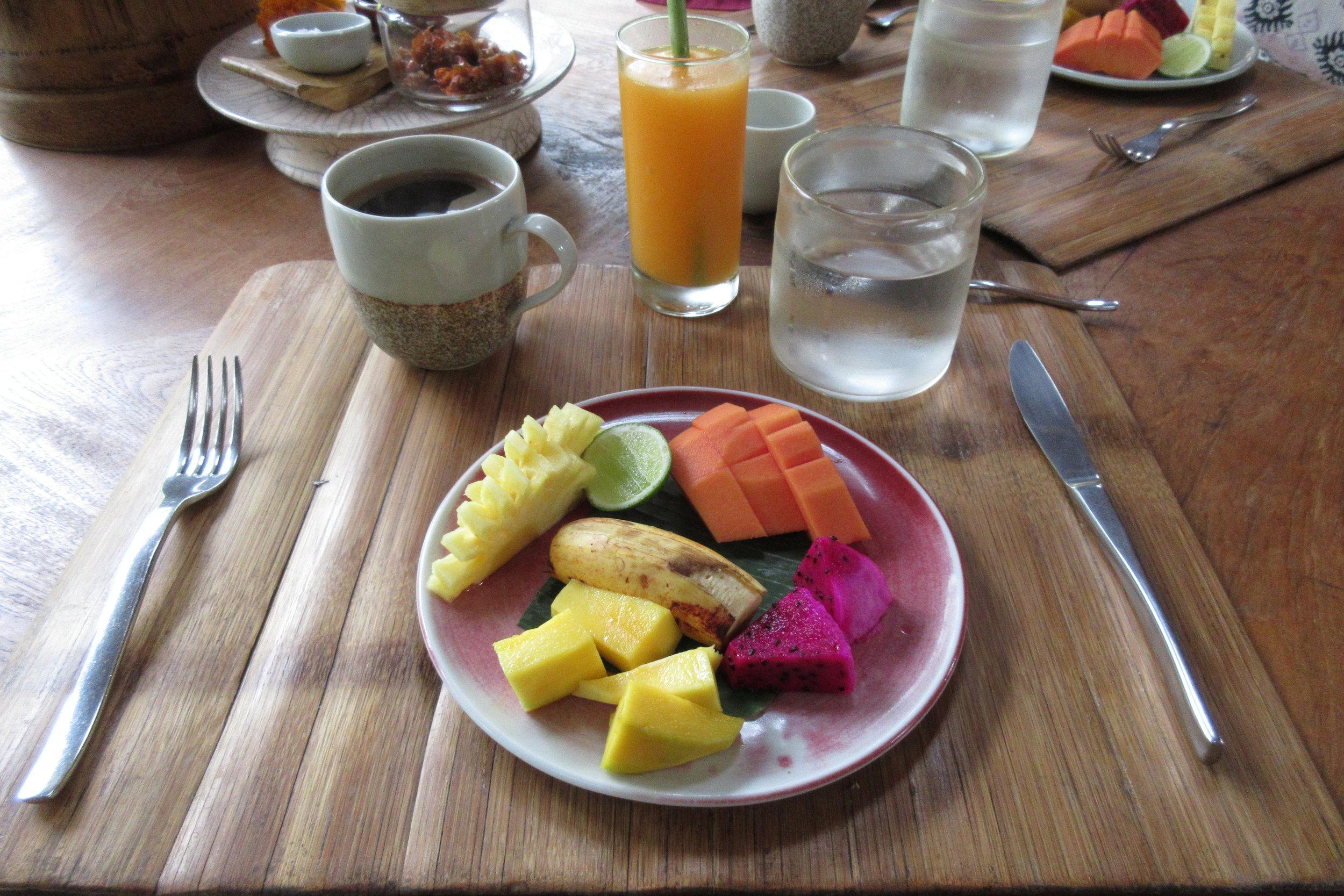 Bambu Indah Ubud – Fresh fruit