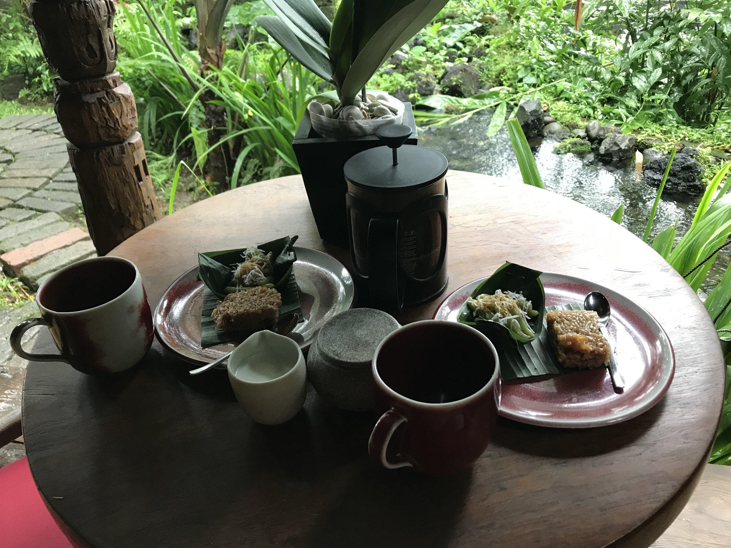 Bambu Indah Ubud – Afternoon tea
