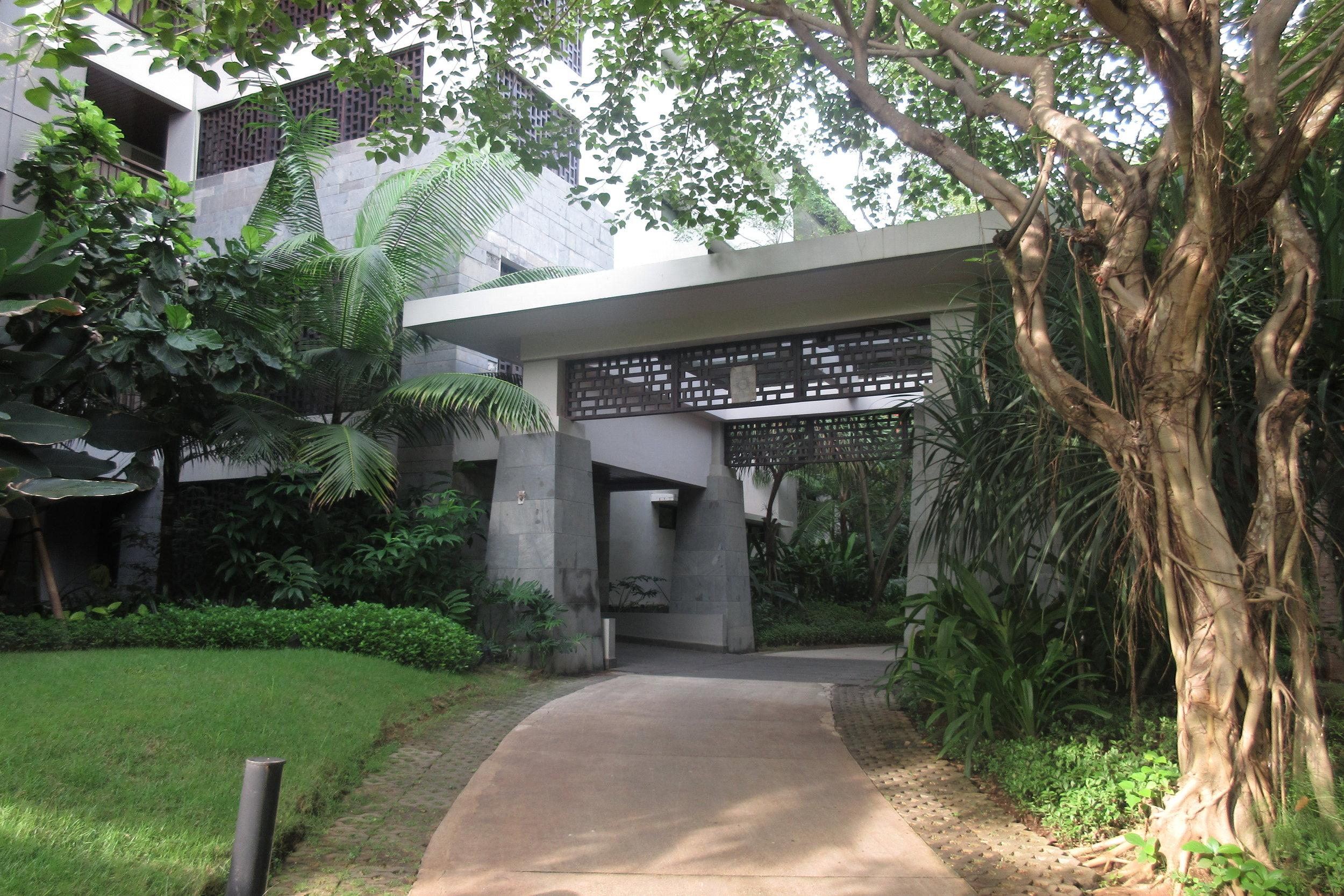 The Ritz-Carlton, Bali – Guest Wing 2 entrance