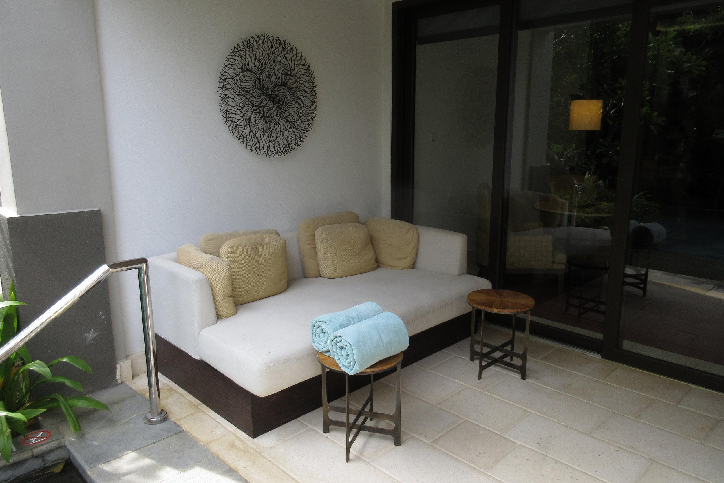 The Ritz-Carlton, Bali – Outdoor patio