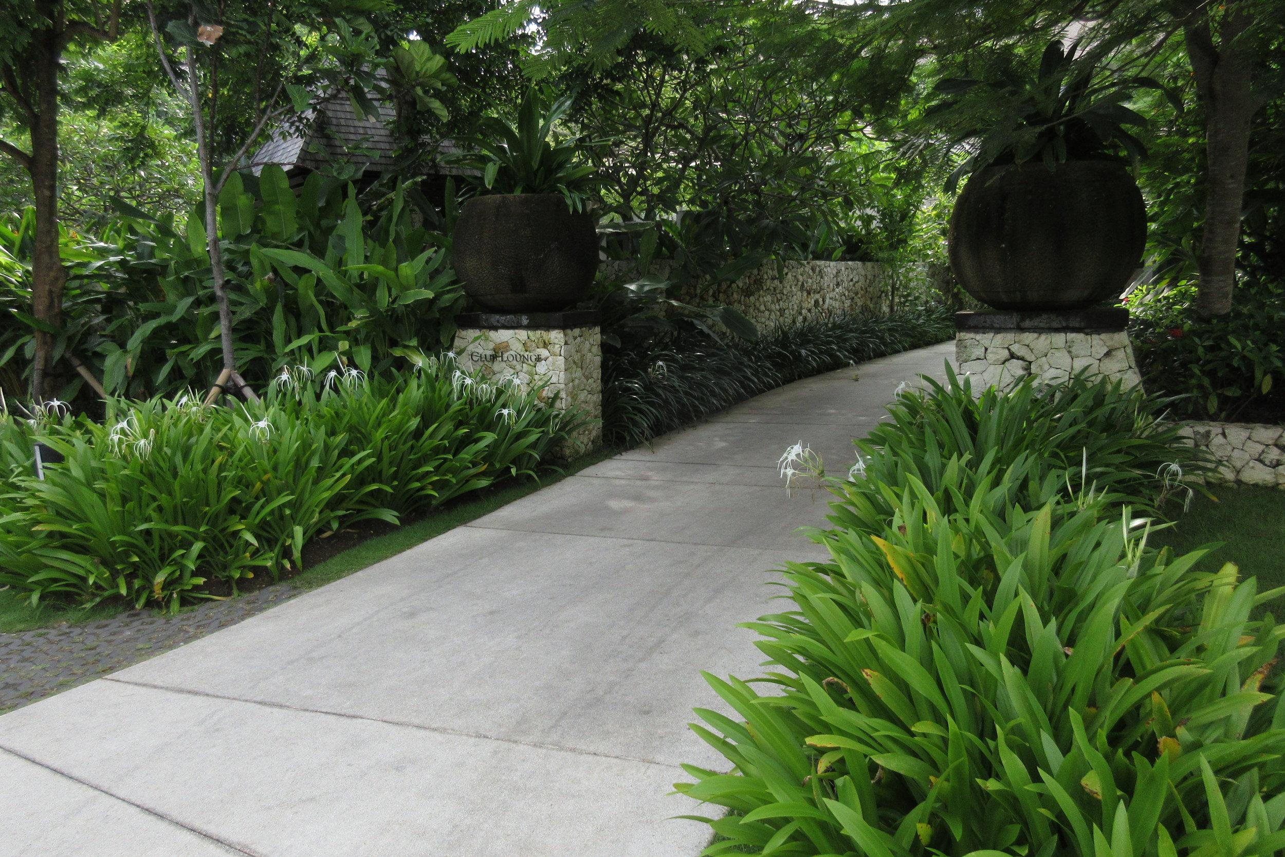 The Ritz-Carlton, Bali – Club entryway