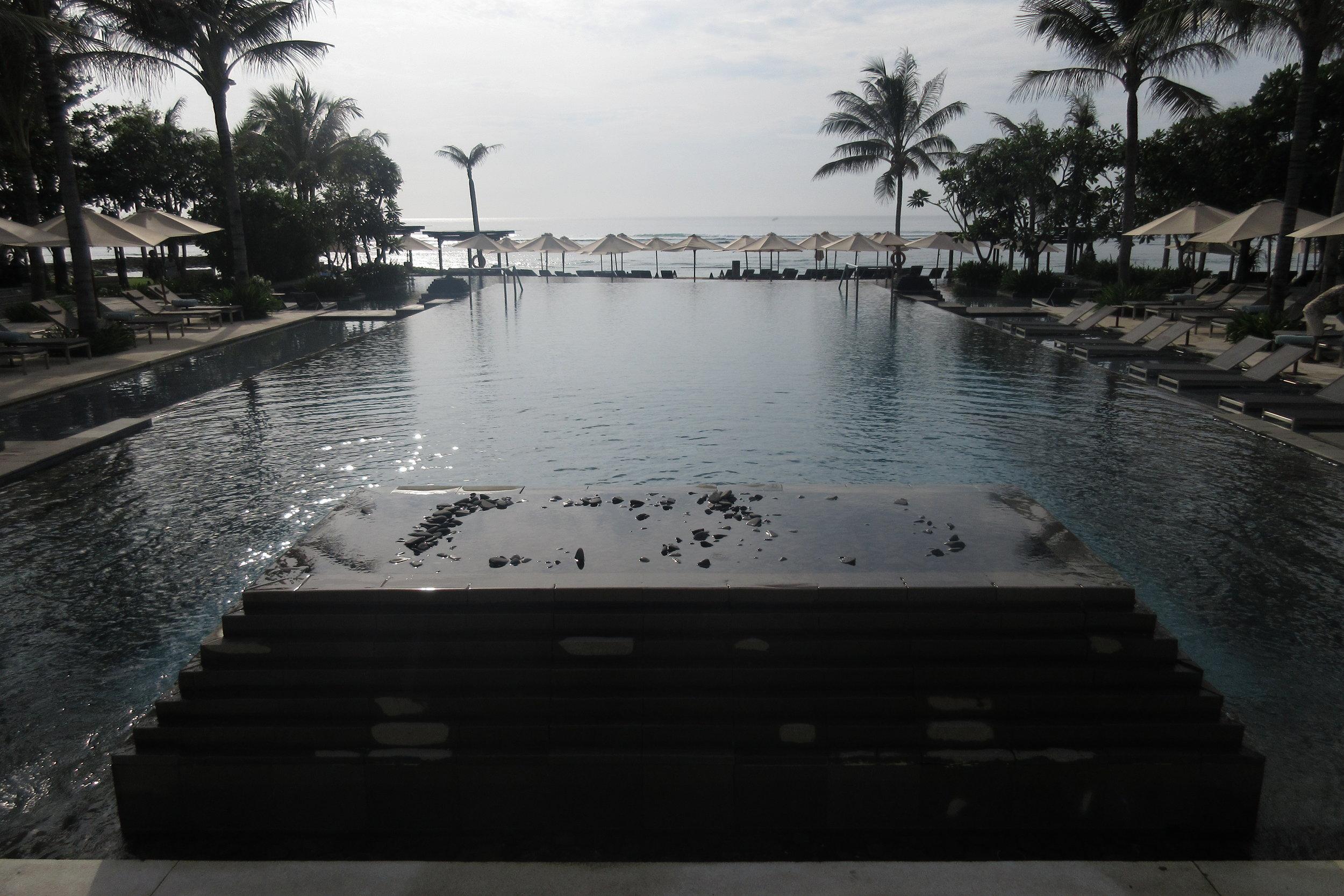 The Ritz-Carlton, Bali – Main pool area