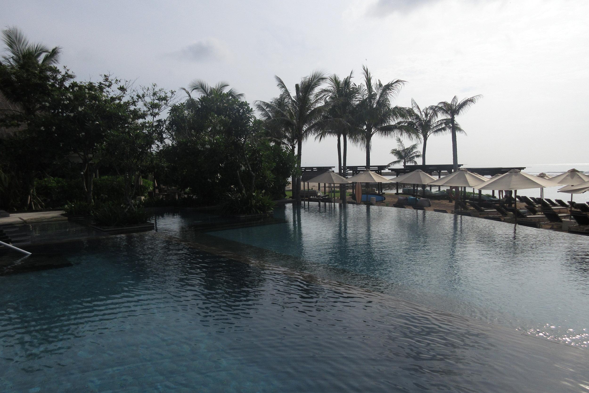 The Ritz-Carlton, Bali – Infinity pool #1