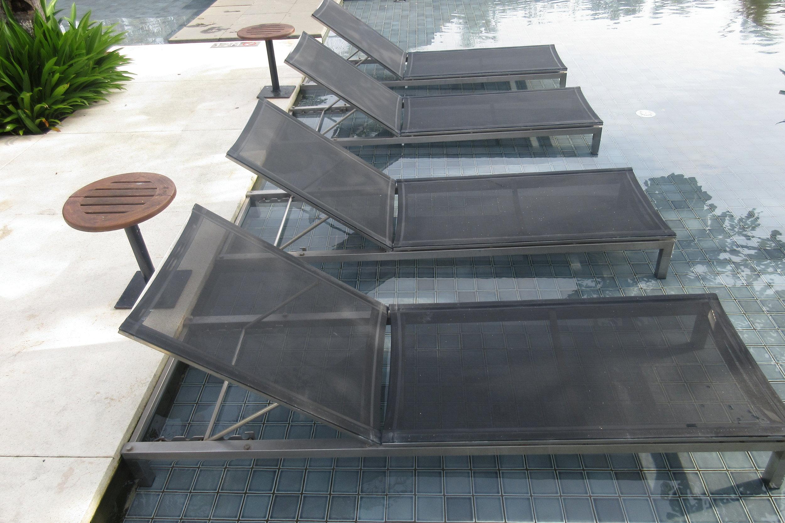 The Ritz-Carlton, Bali – In-pool loungers