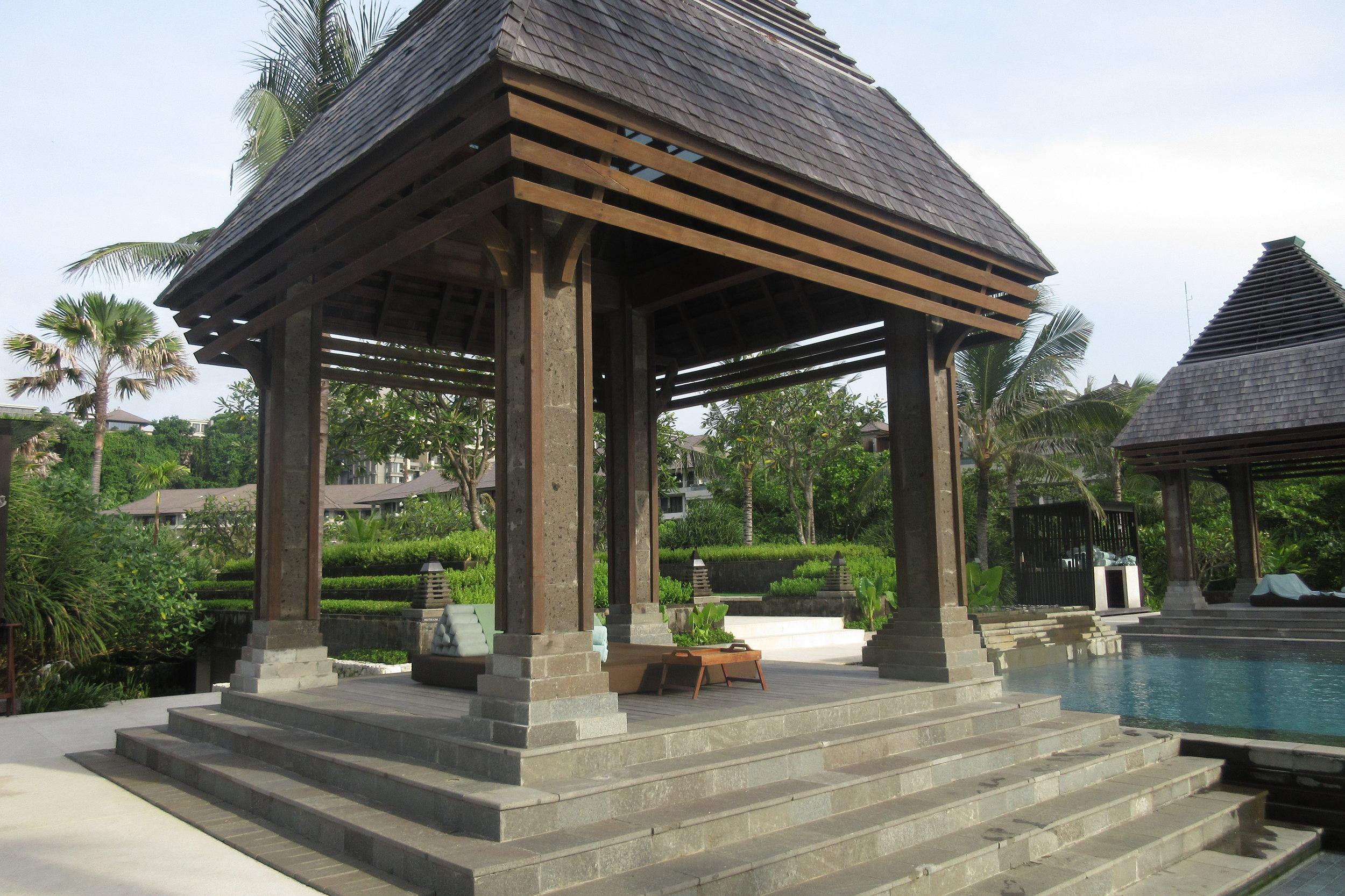The Ritz-Carlton, Bali – Poolside cabanas