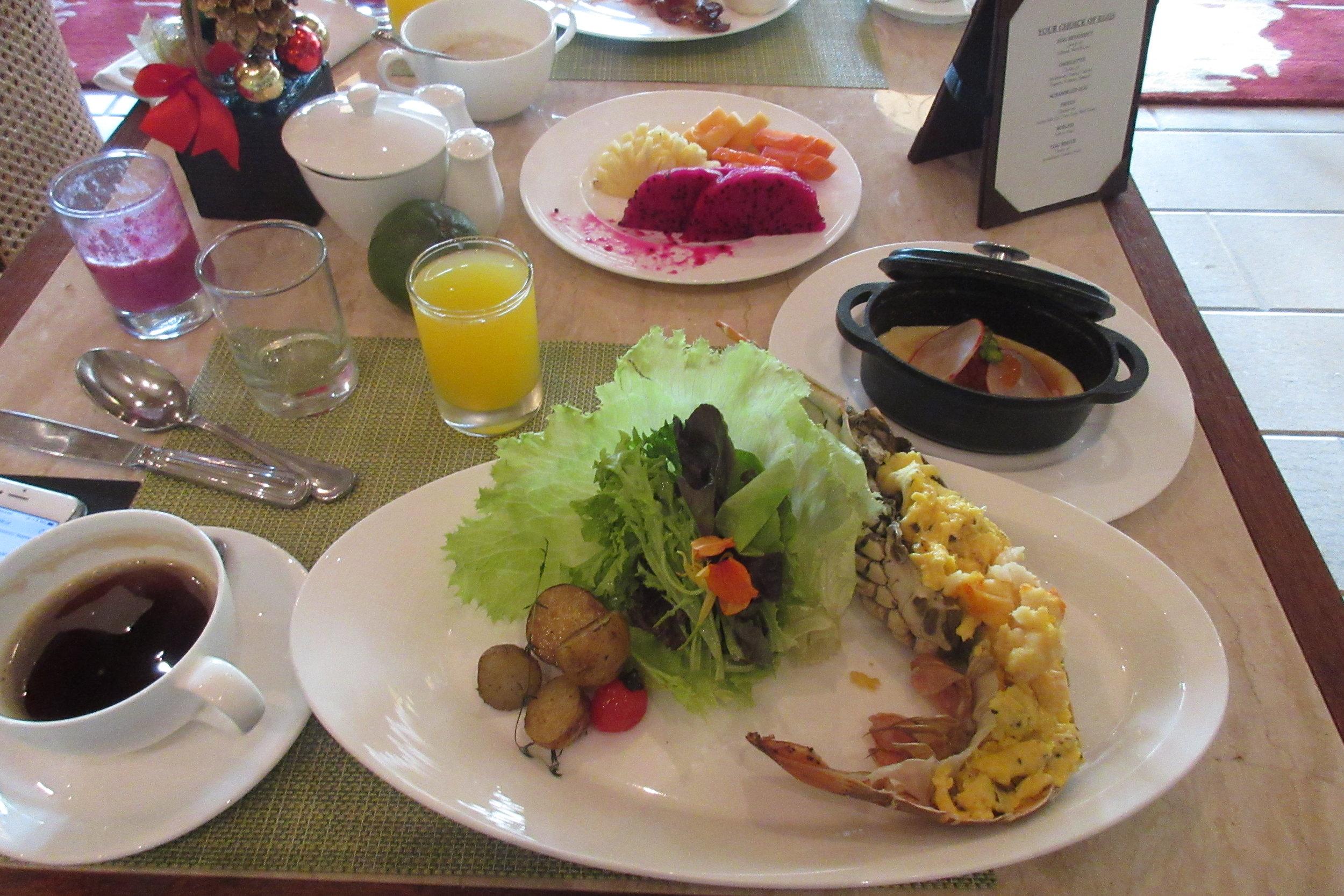 The Ritz-Carlton, Bali – Lobster scrambled egg