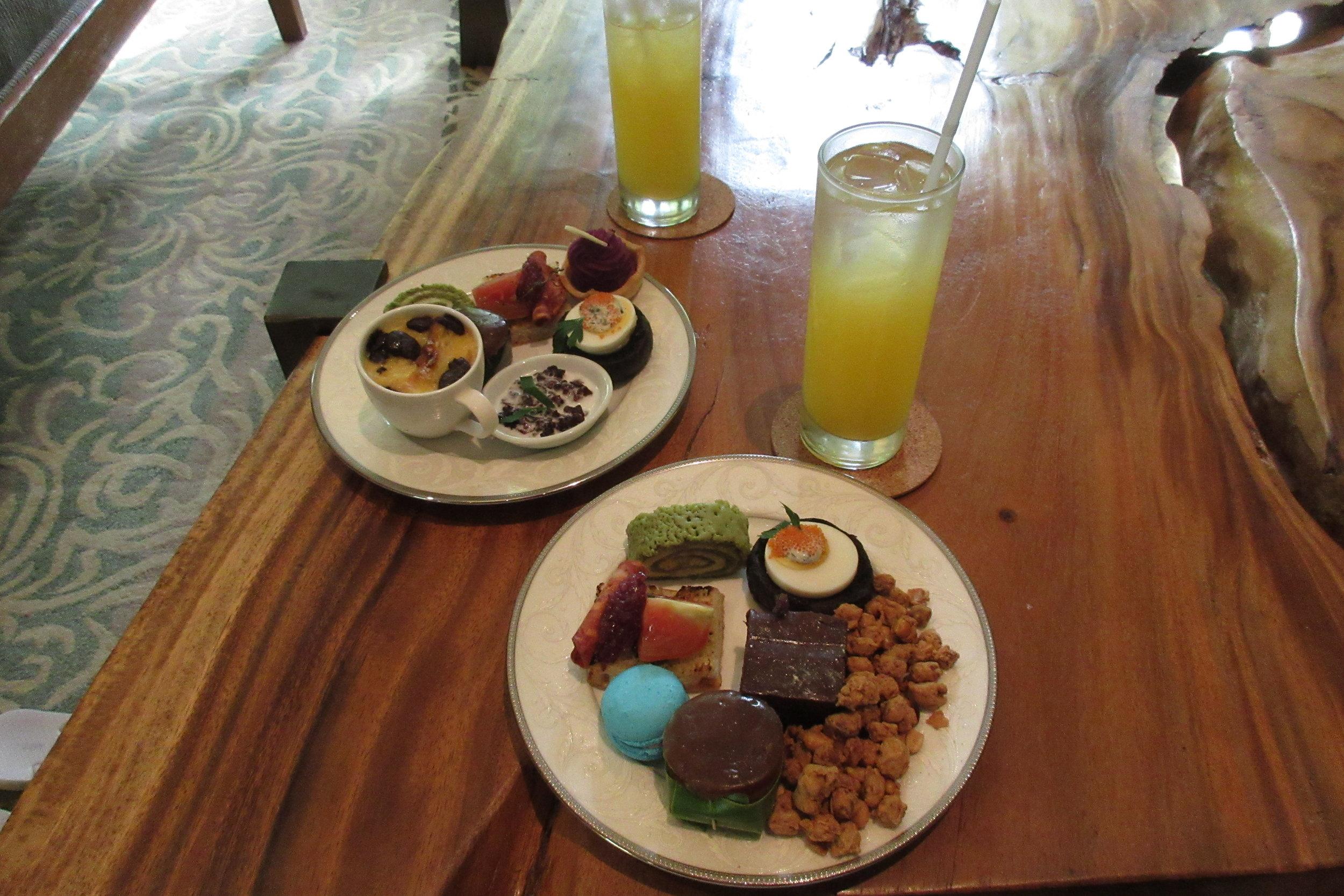 The Ritz-Carlton, Bali – Afternoon tea
