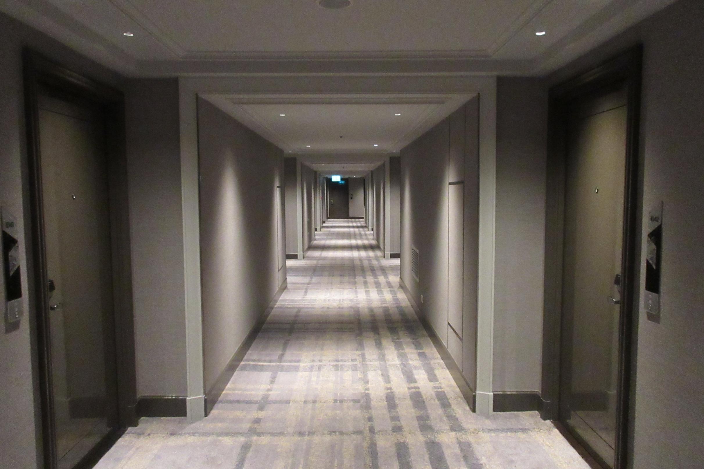 JW Marriott Bangkok – 10th floor hallway