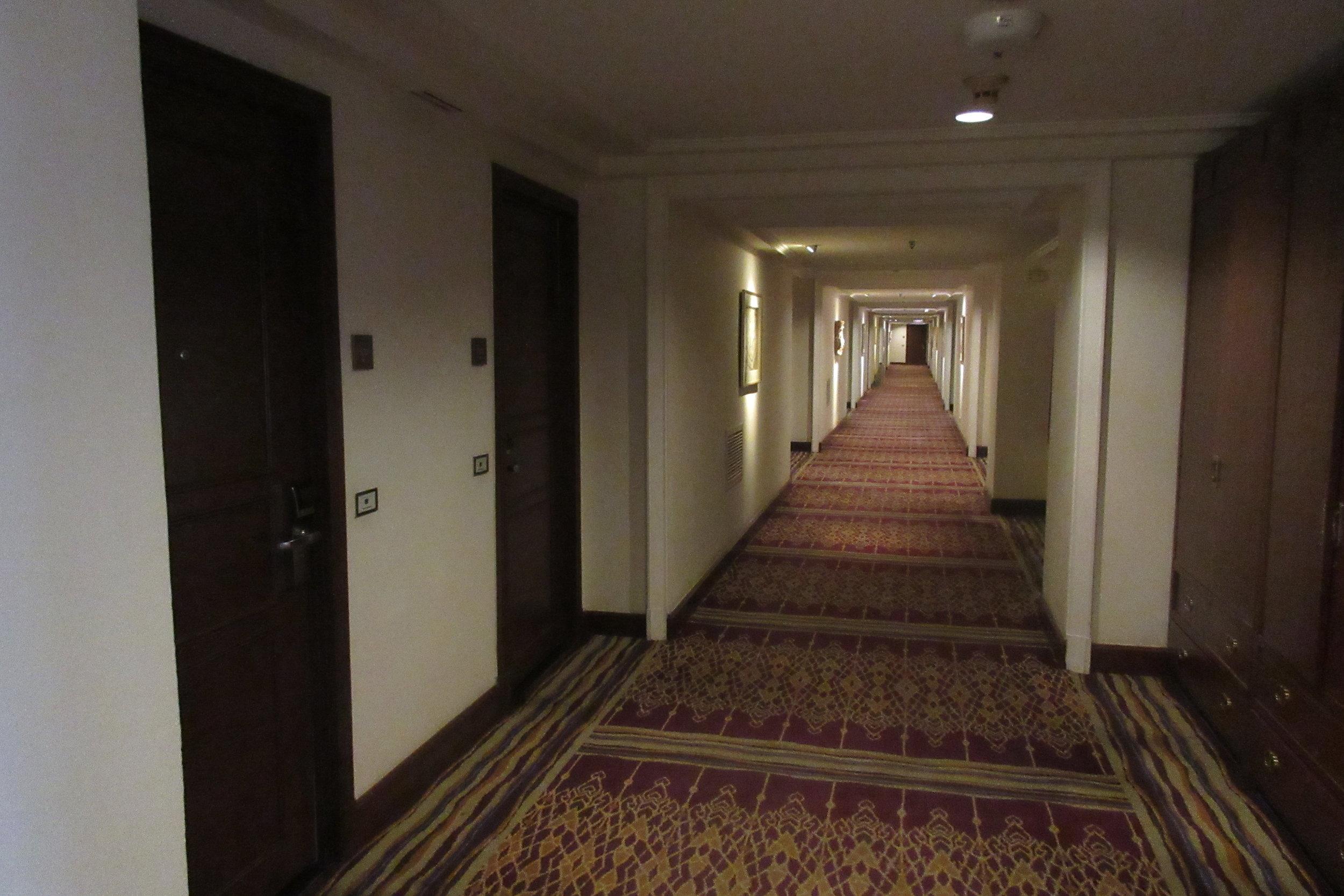 JW Marriott Bangkok – 16th floor hallway