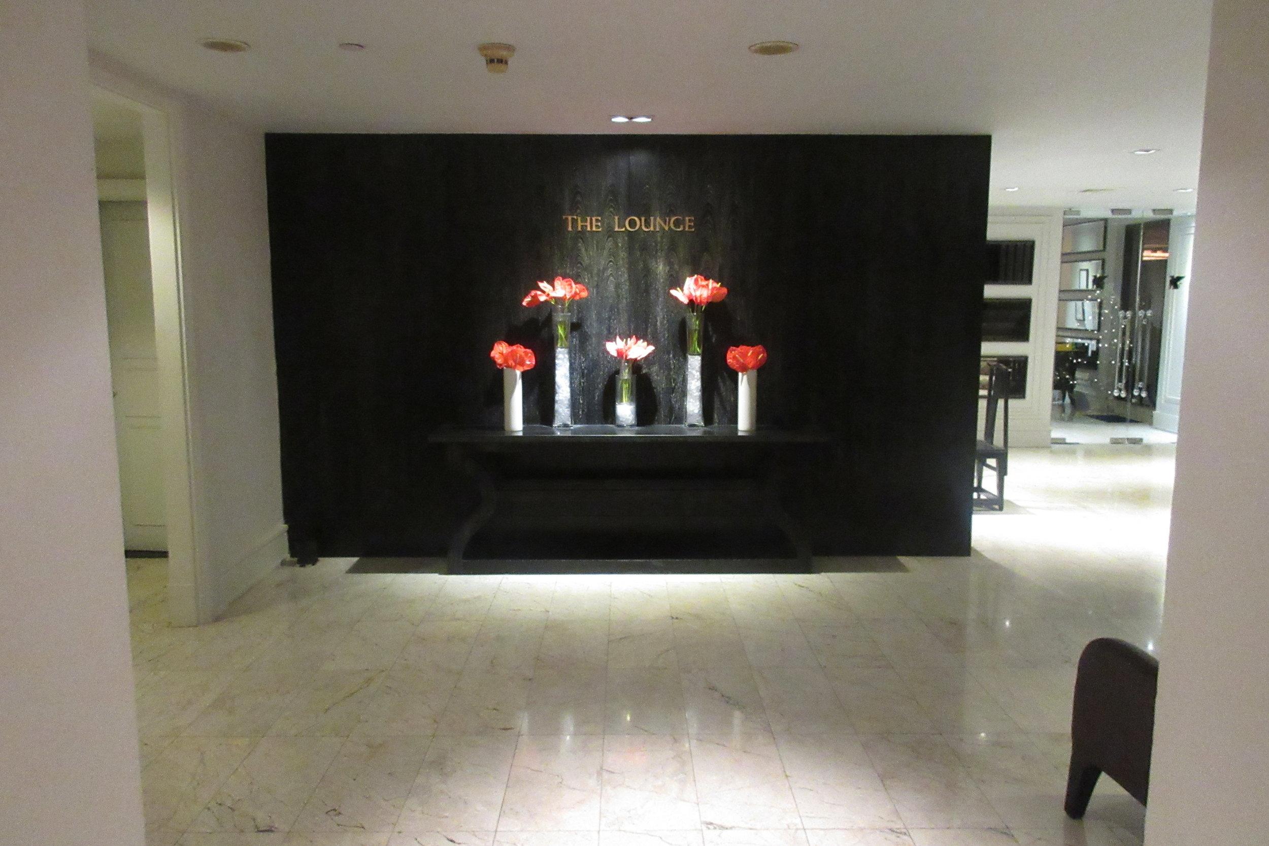 JW Marriott Bangkok – Club Lounge entrance