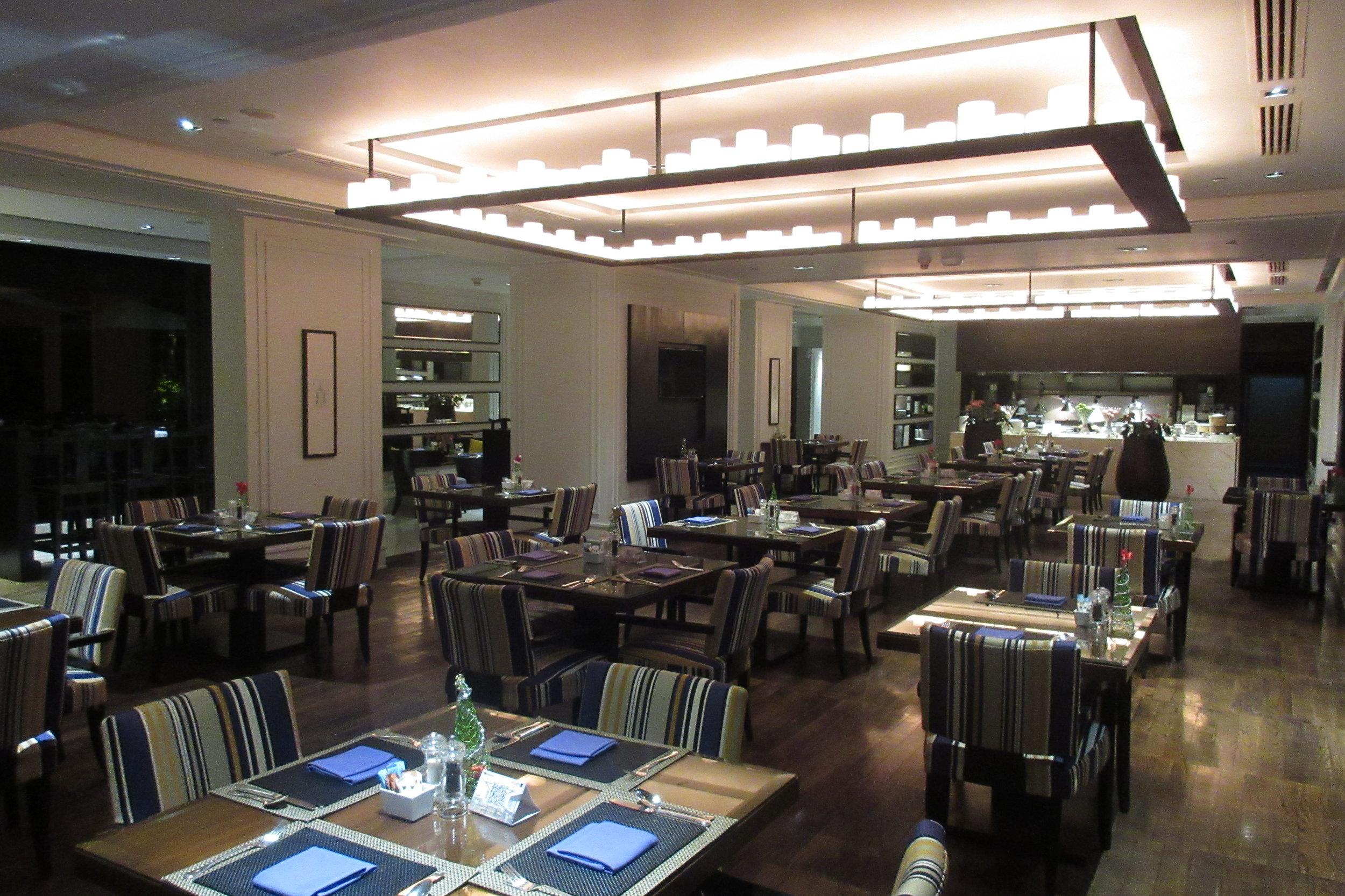 JW Marriott Bangkok – Club Lounge seating area