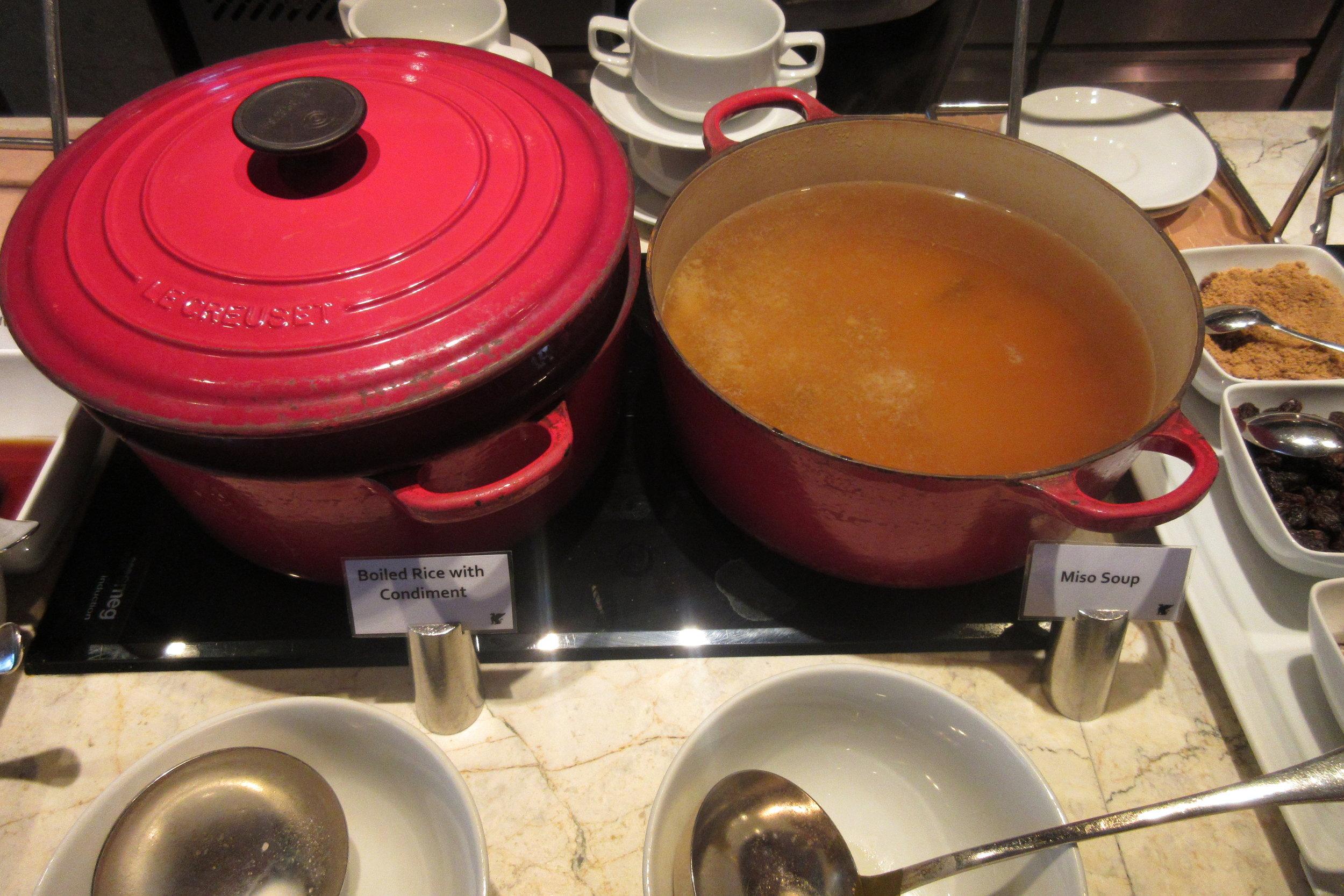 JW Marriott Bangkok – Miso soup