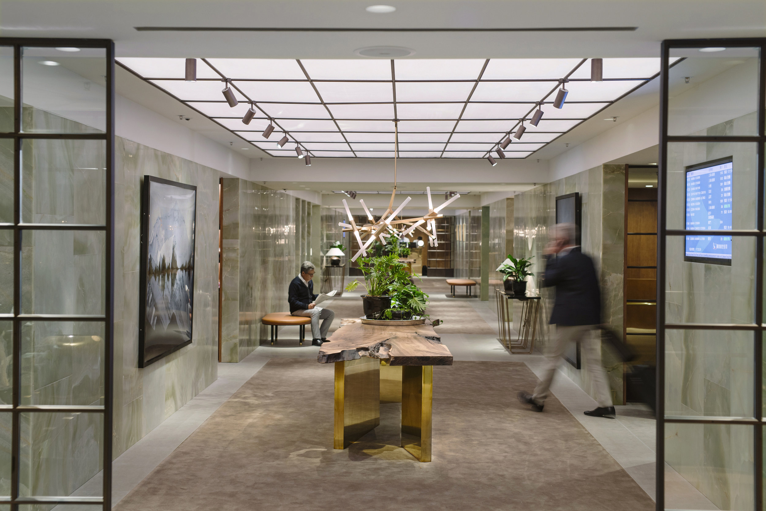 The Pier Lounge by Cathay Pacific