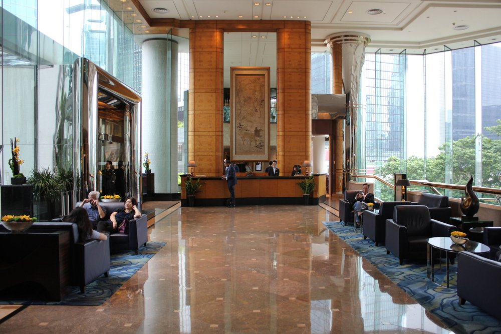 The JW Marriott Hong Kong, a Category 9 hotel