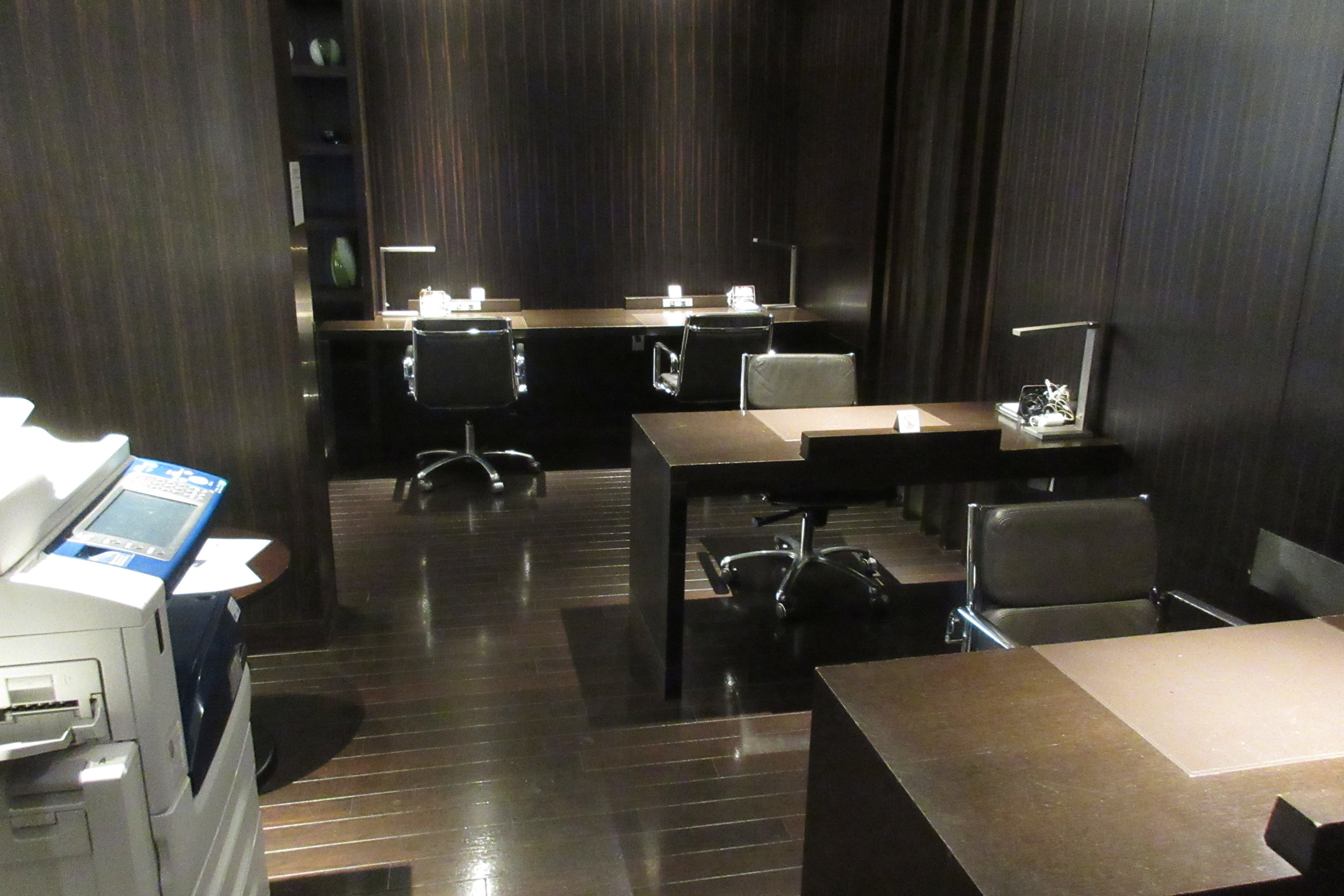 Japan Airlines First Class Lounge Tokyo Narita – Business centre