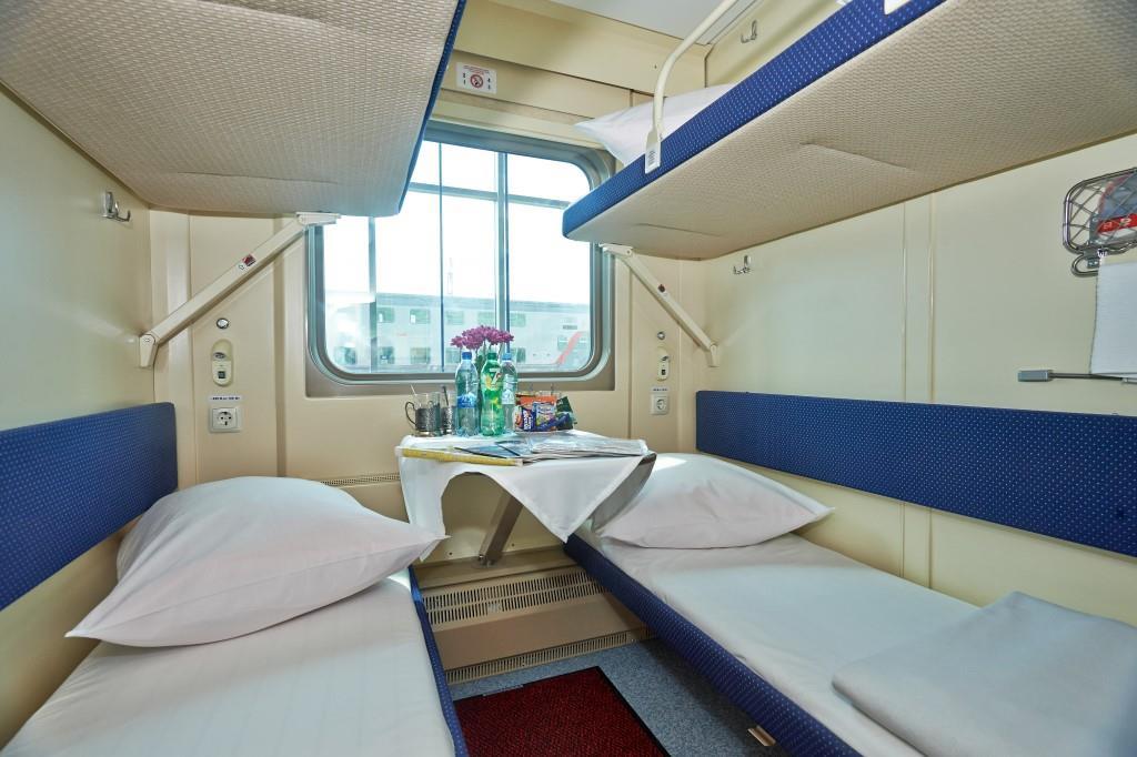 Second class (kupé) compartments