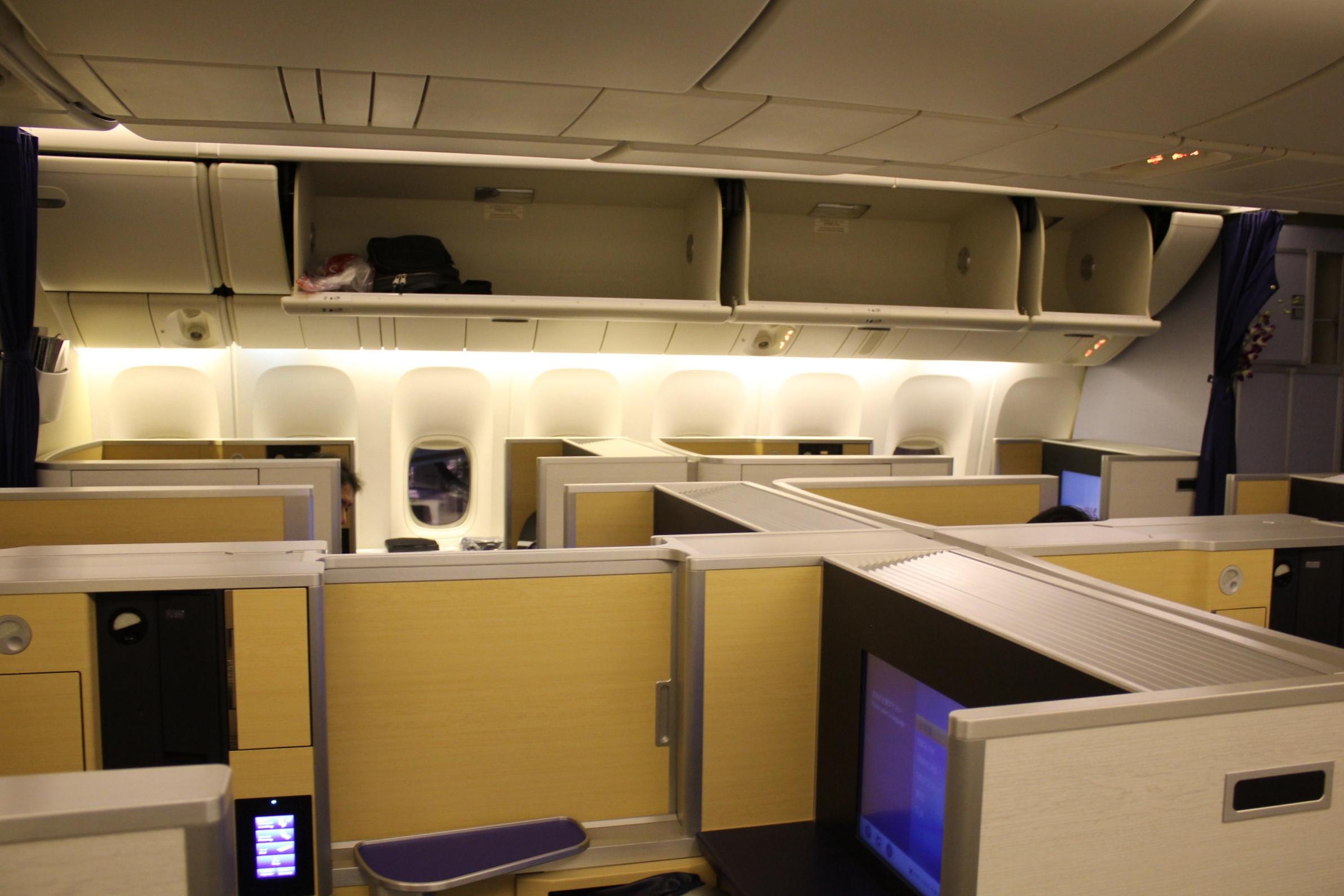 ANA First Class – Cabin