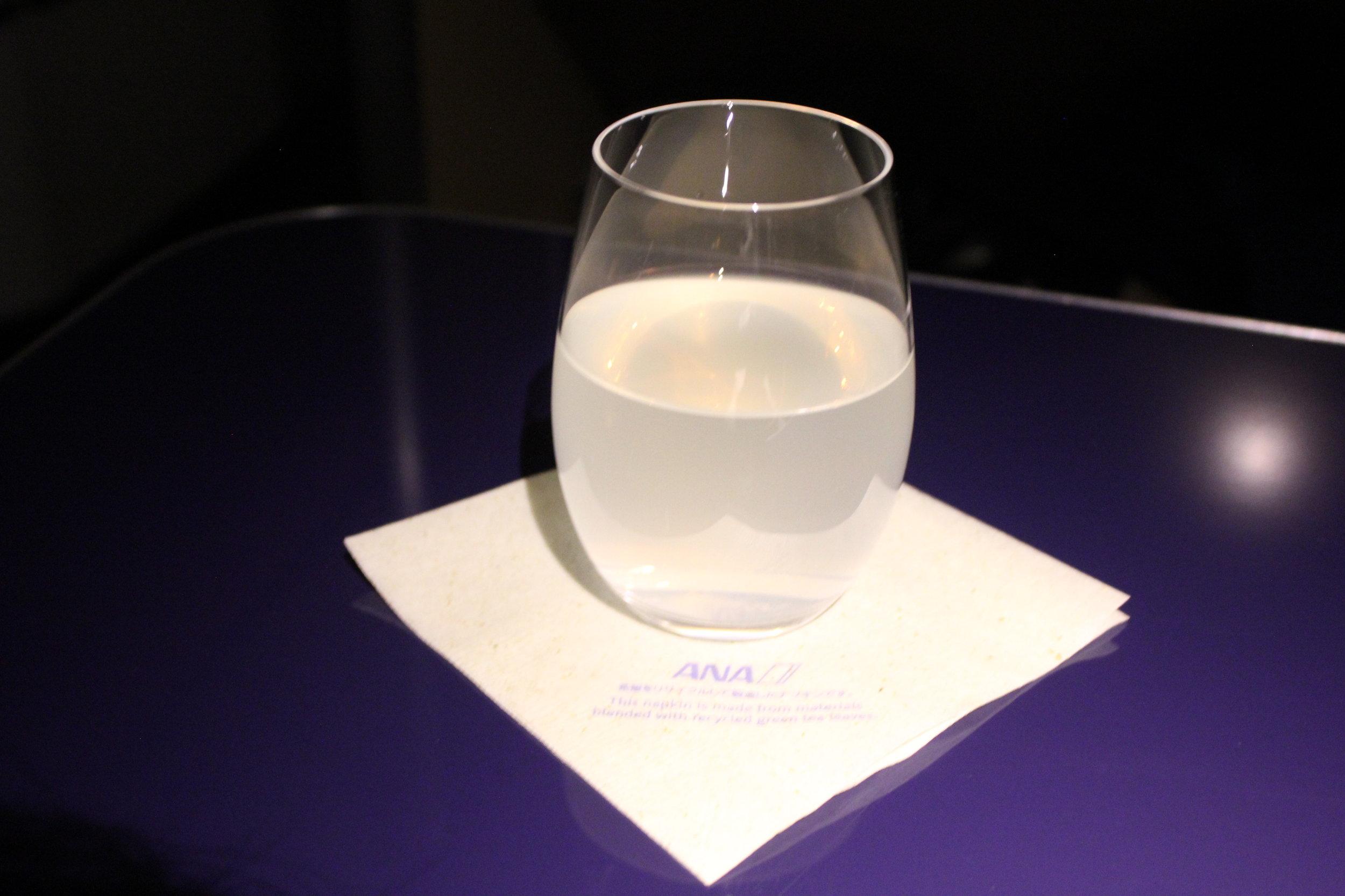 ANA First Class – ANA original citrus juice