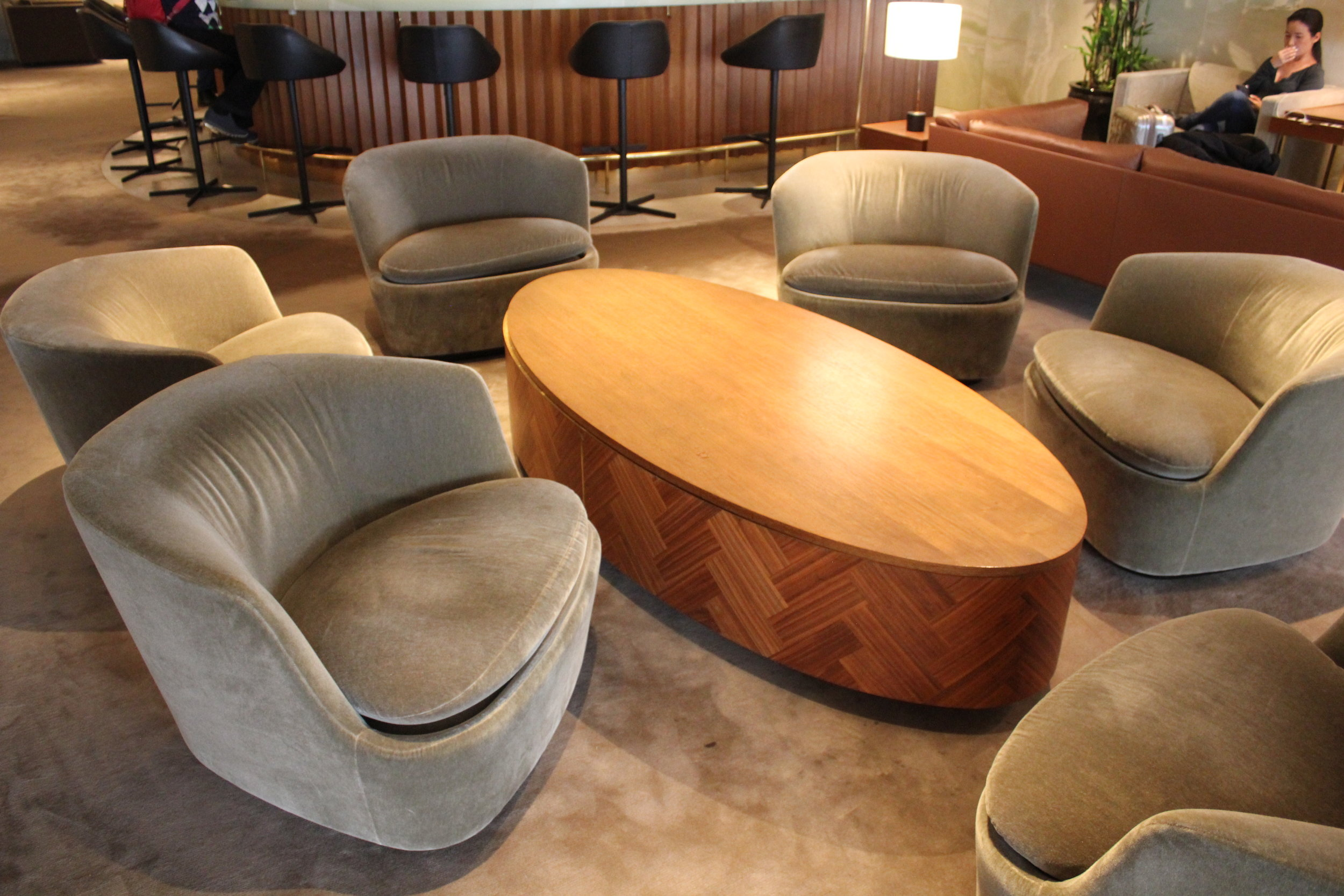 The Pier First Class Lounge by Cathay Pacific – Seating