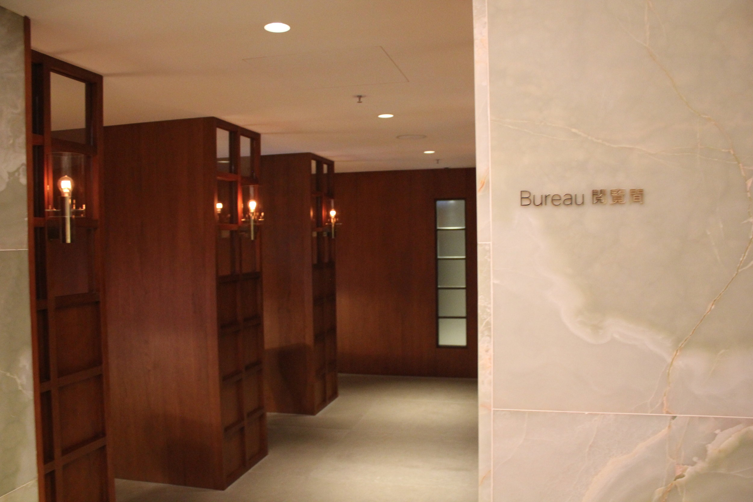 The Pier First Class Lounge by Cathay Pacific – The Bureau