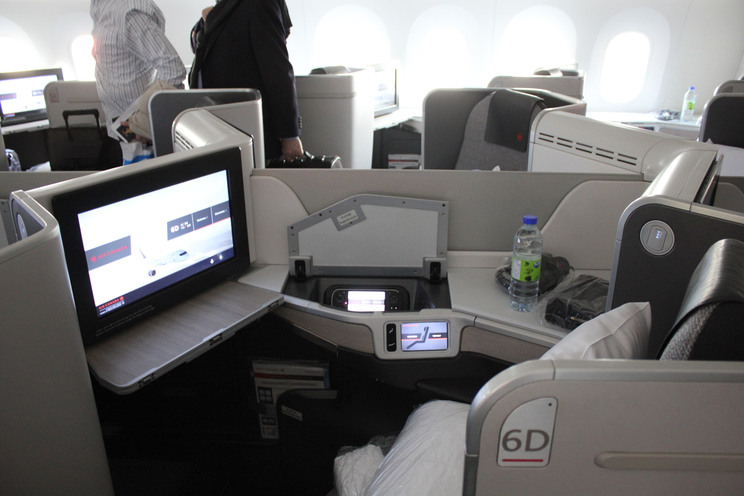 Air Canada business class – Cabin