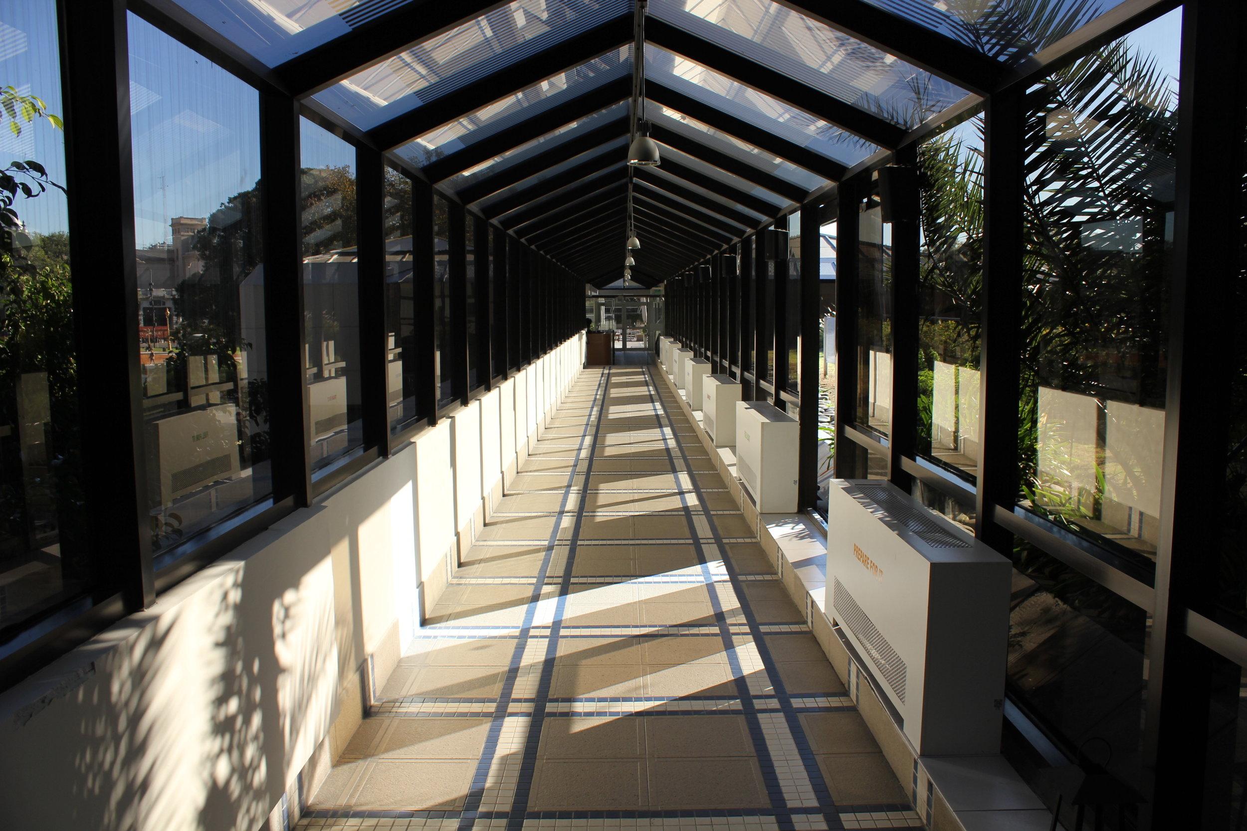 Sheraton Buenos Aires – Fitness centre footbridge