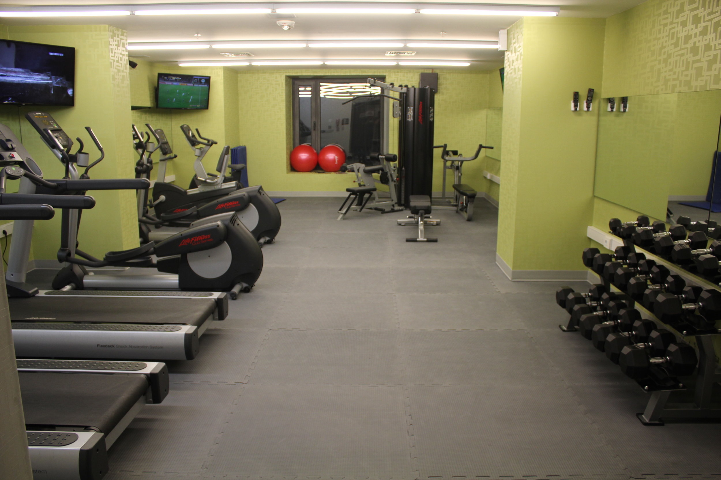 Aloft Montevideo – Re:charge gym