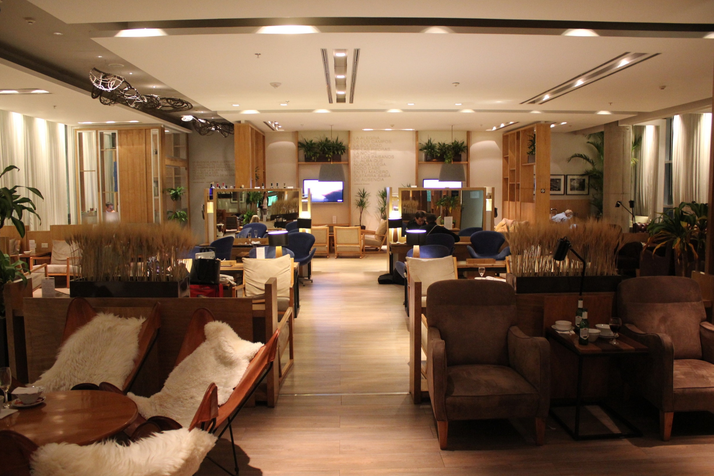 Star Alliance Lounge Buenos Aires – Seating area