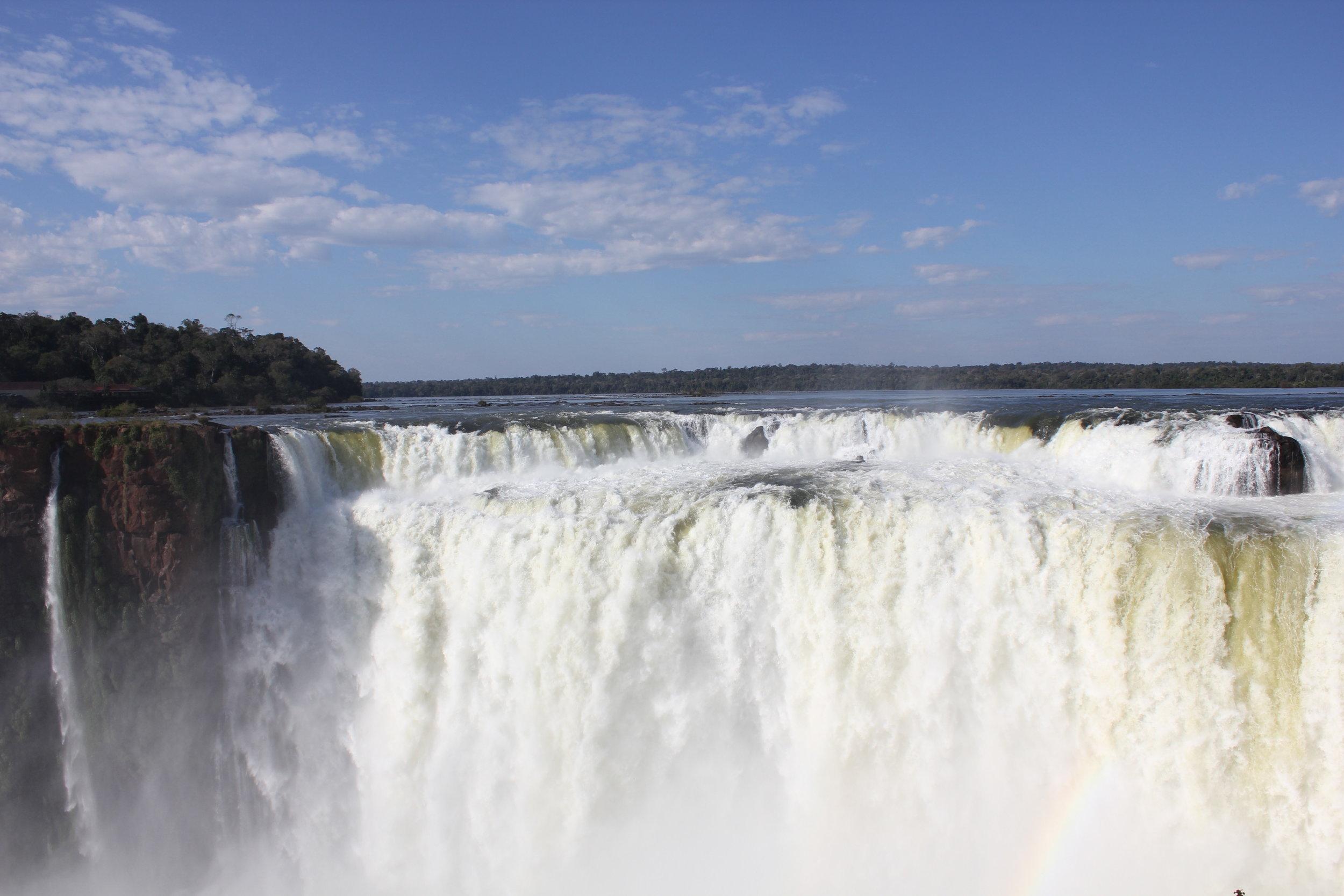 Iguazu Falls – View of the Devil's Throat