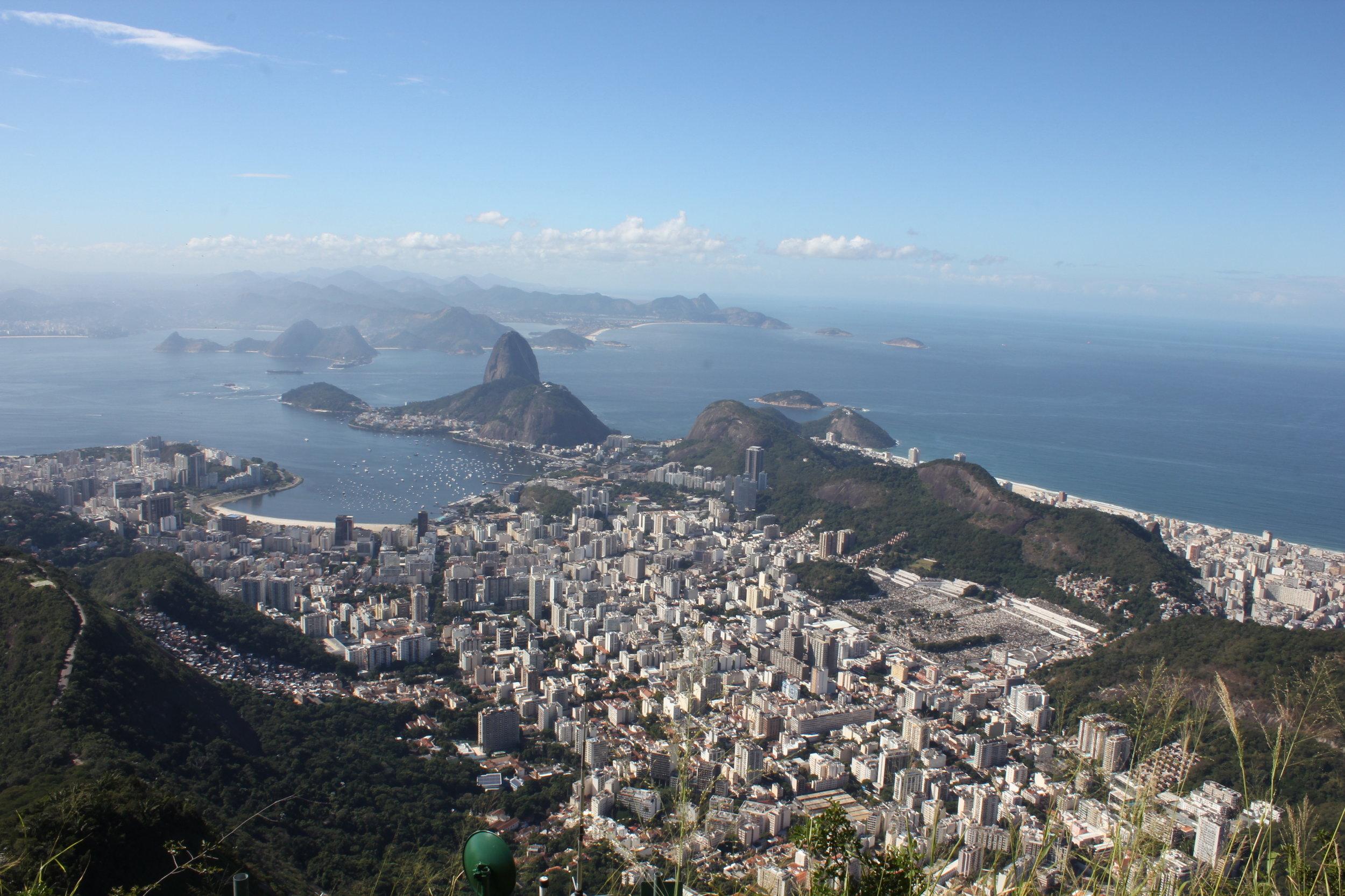 Rio de Janeiro, Brazil – View from Corcovado Mountain