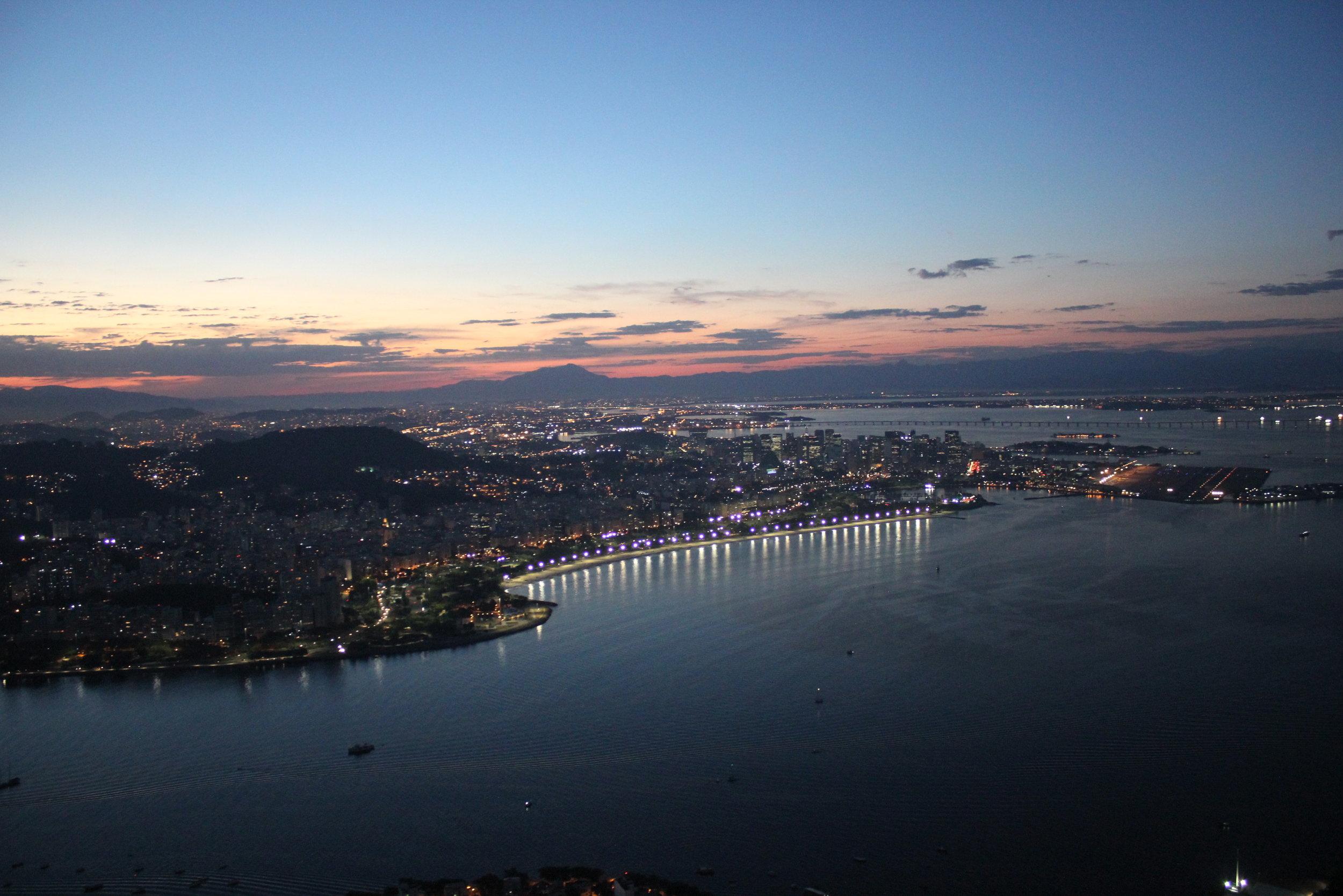 Rio de Janeiro, Brazil – Zona Centro and SDU airport
