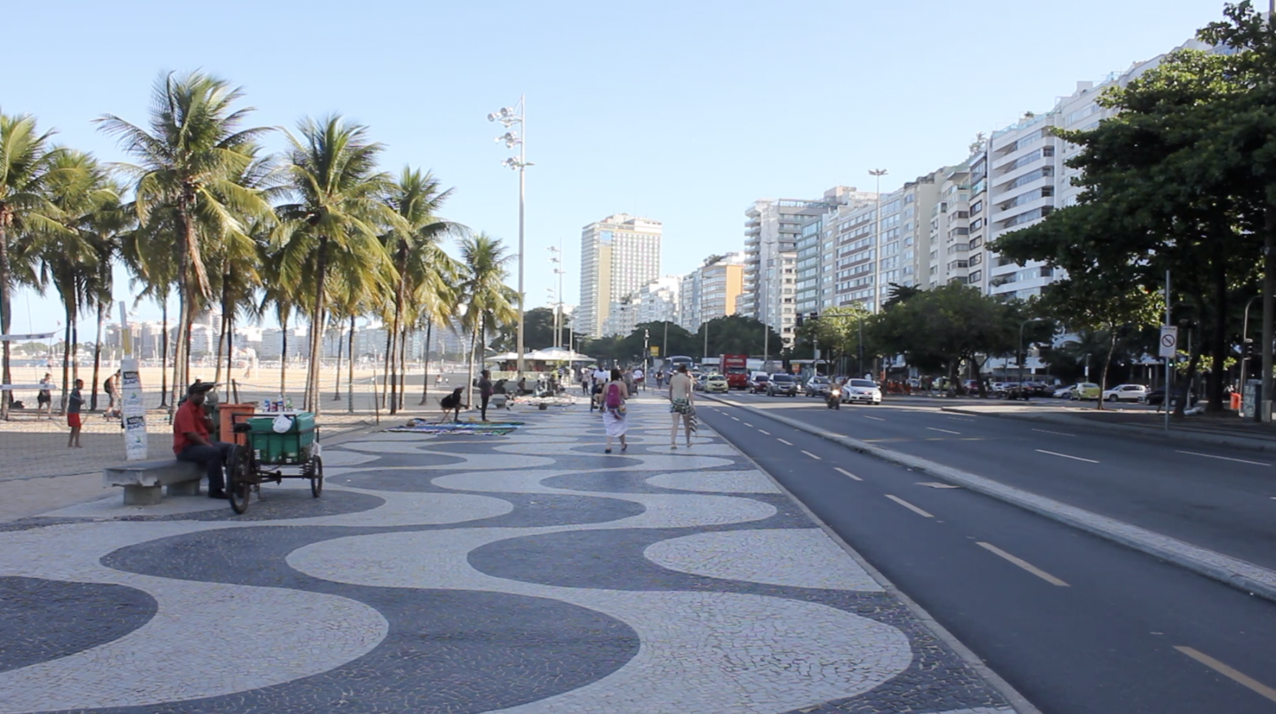 Rio de Janeiro, Brazil – Avenida Atlântica promenade
