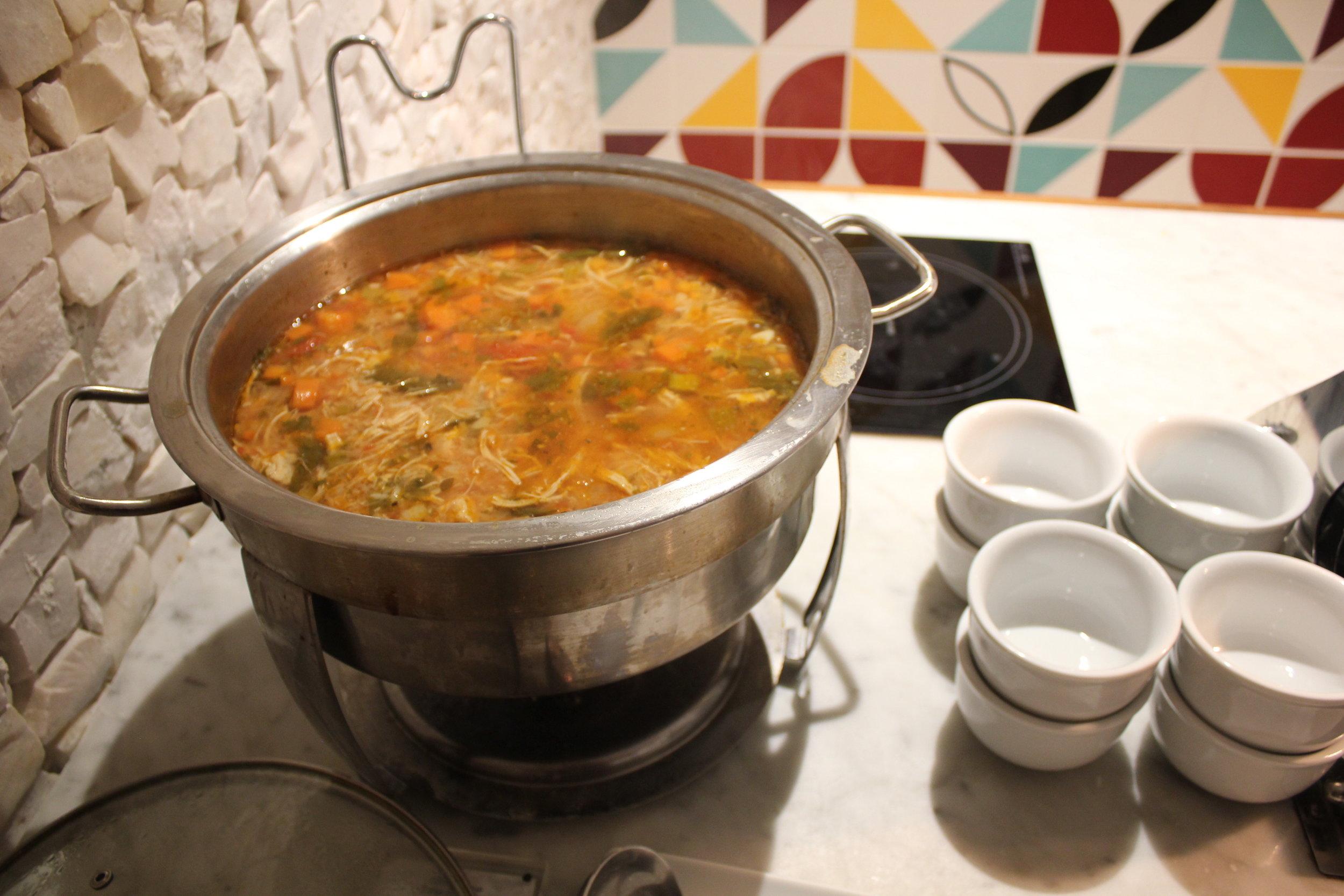 Star Alliance Lounge Rio de Janeiro – Soup