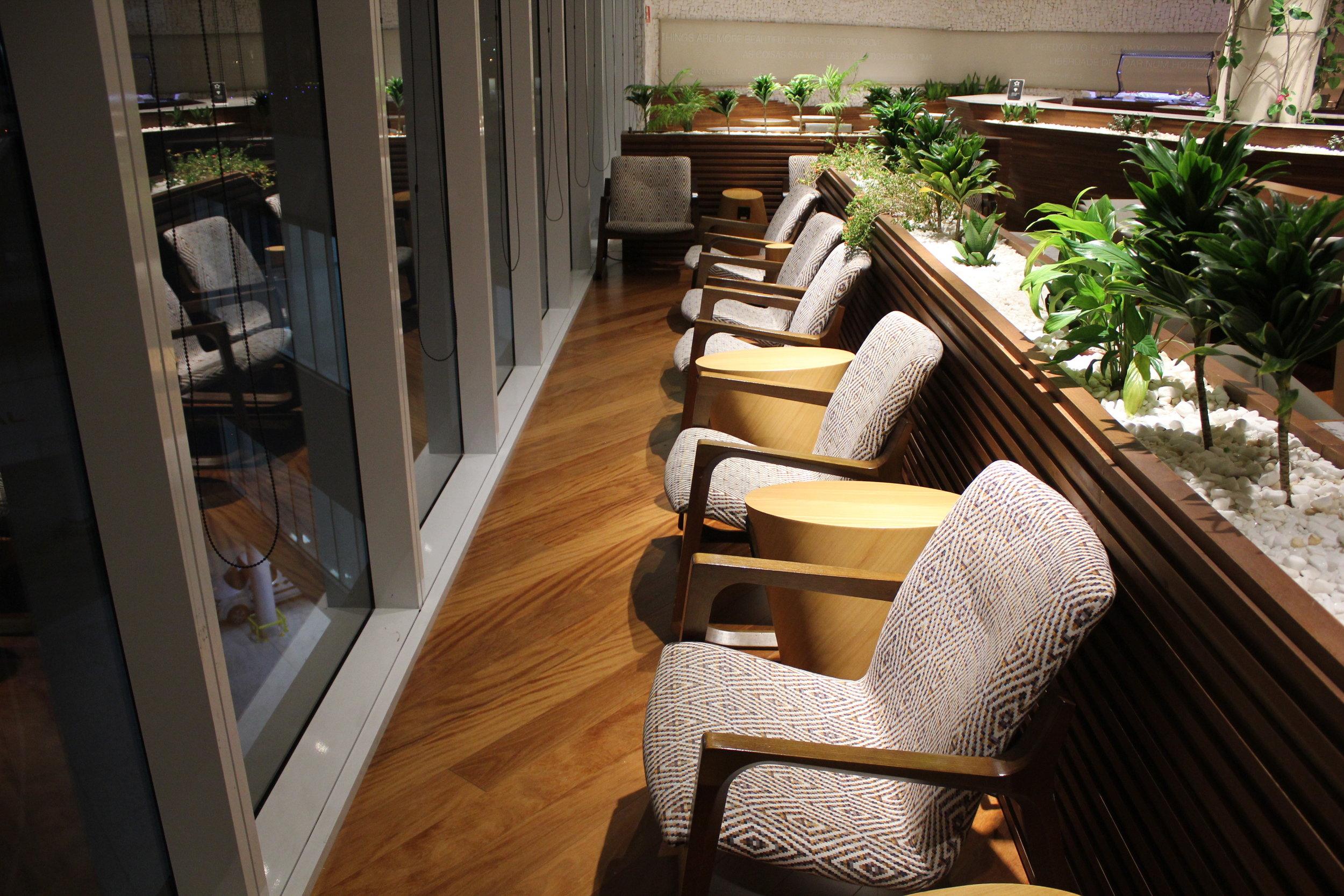 Star Alliance Lounge Rio de Janeiro – Window seats