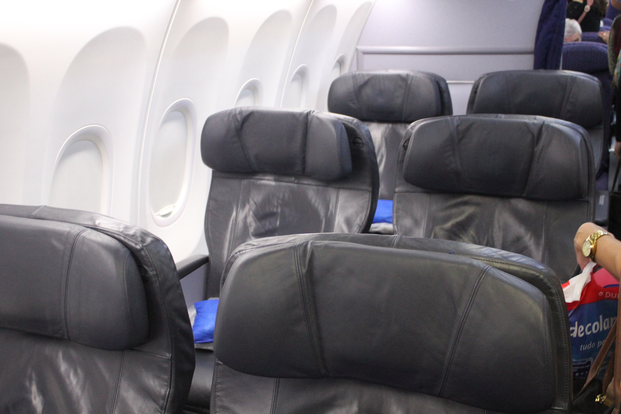 Copa Airlines business class – Cabin