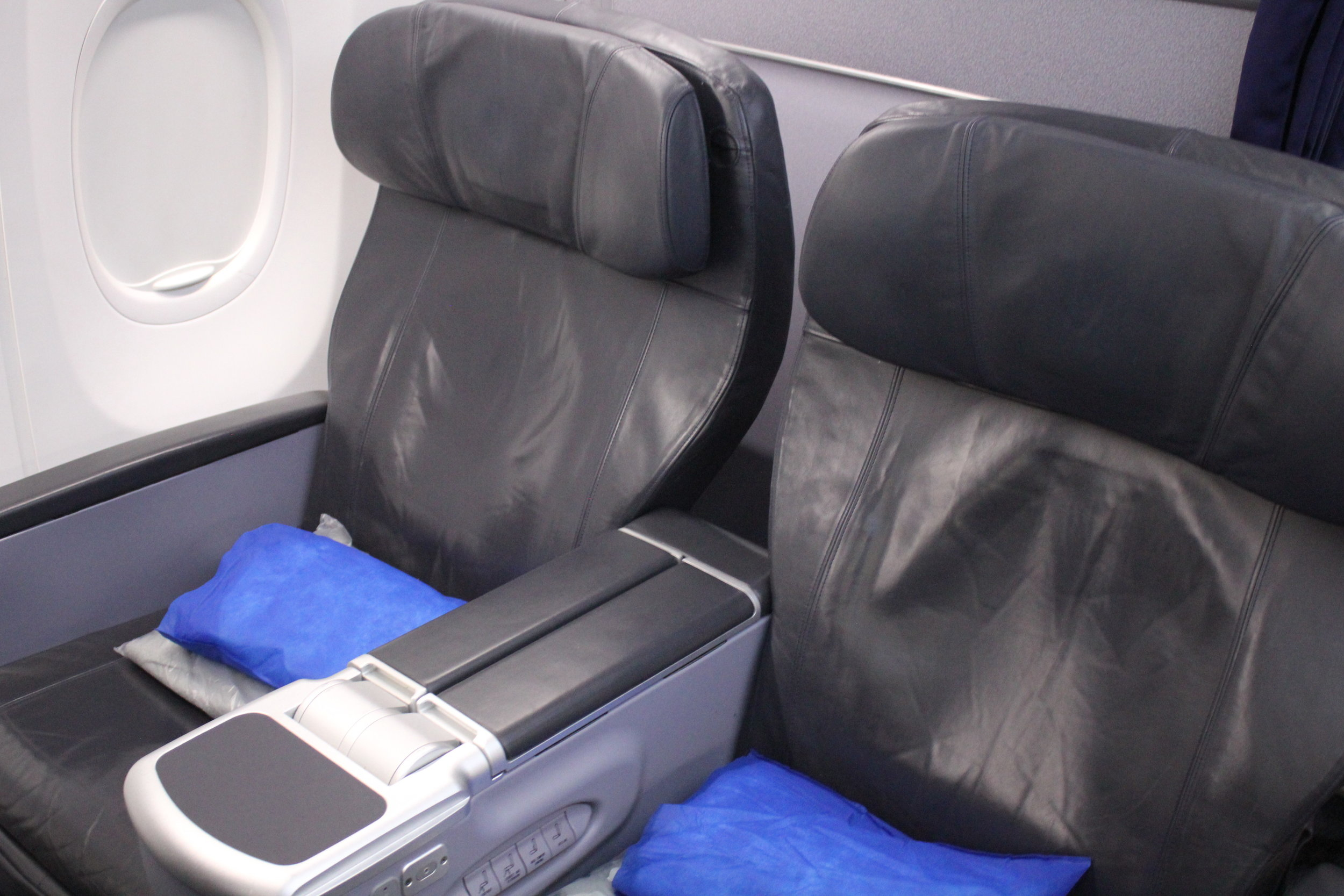 Copa Airlines business class – Seats 4E and 4F