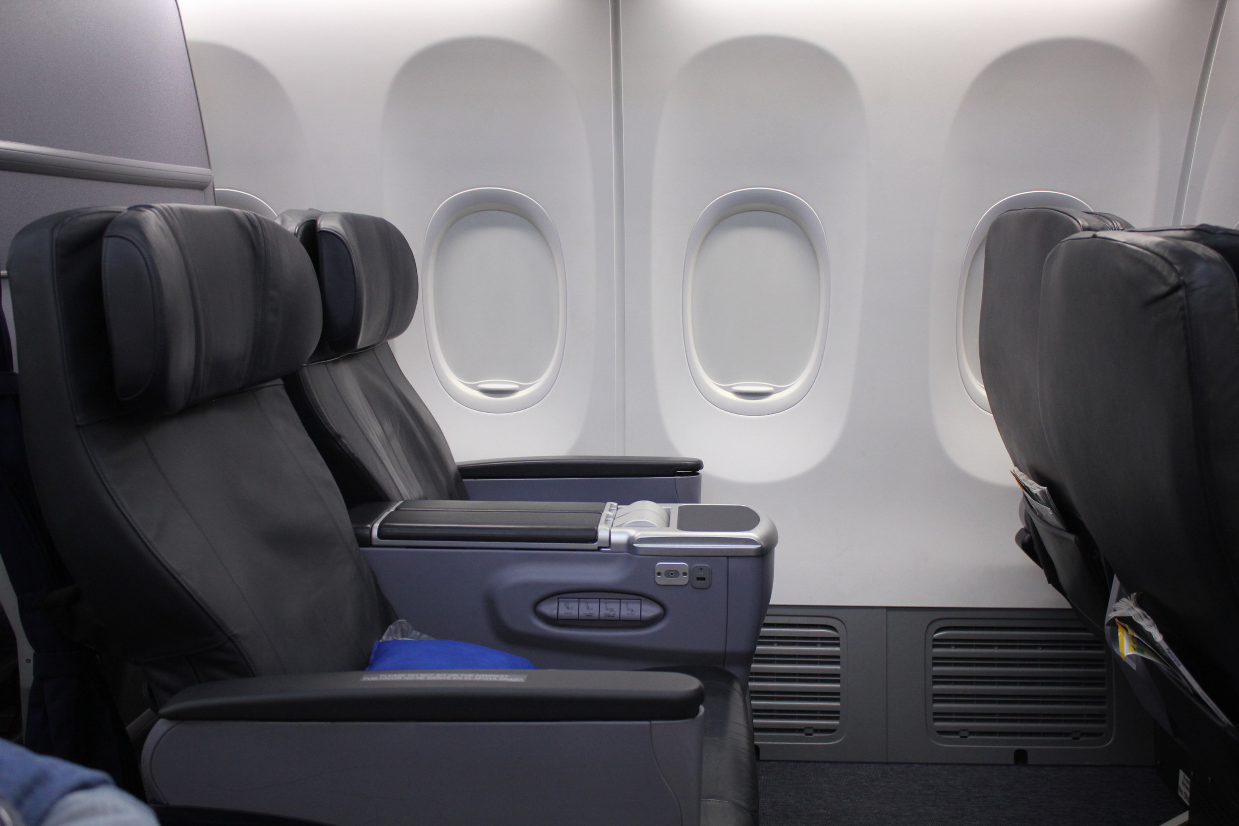 Copa Airlines business class – Seats 4A and 4B