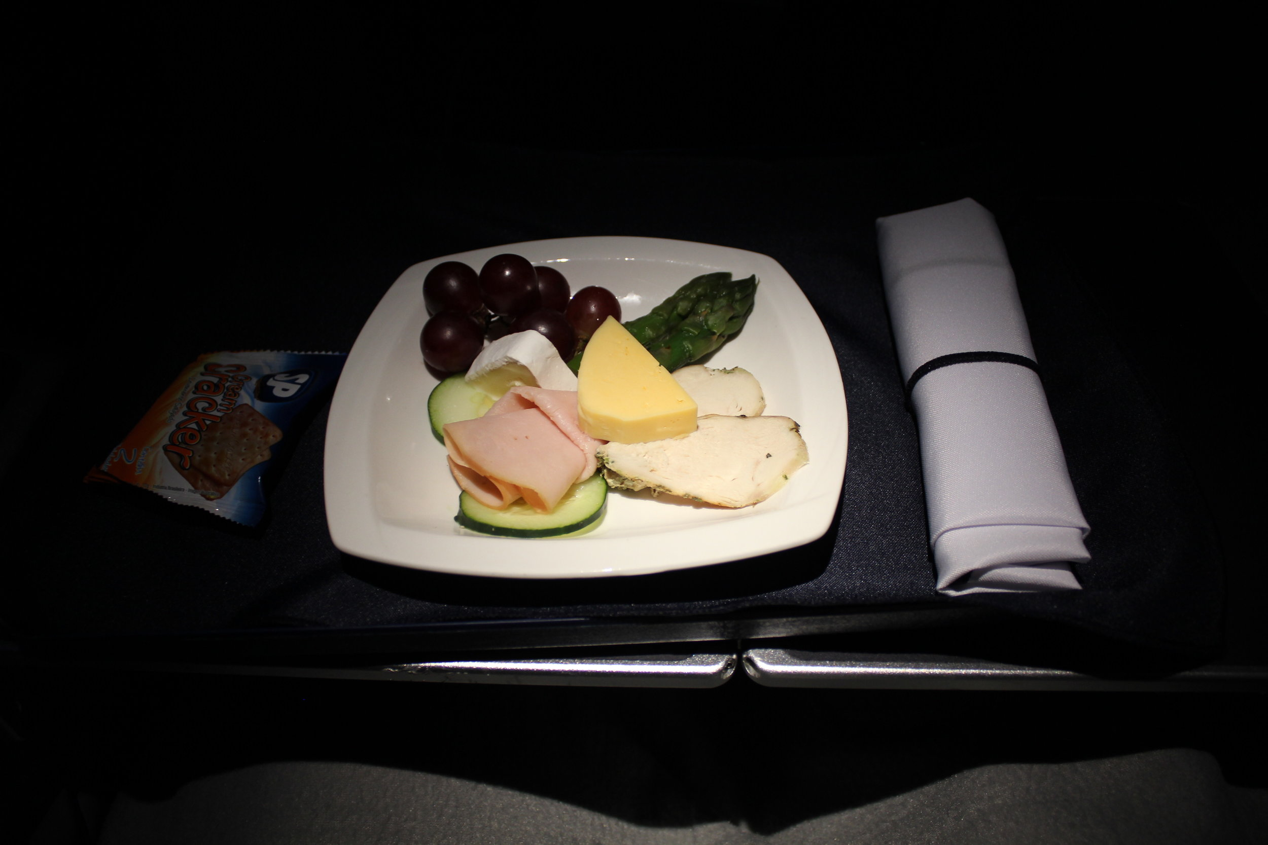 Copa Airlines business class – Late-night snack