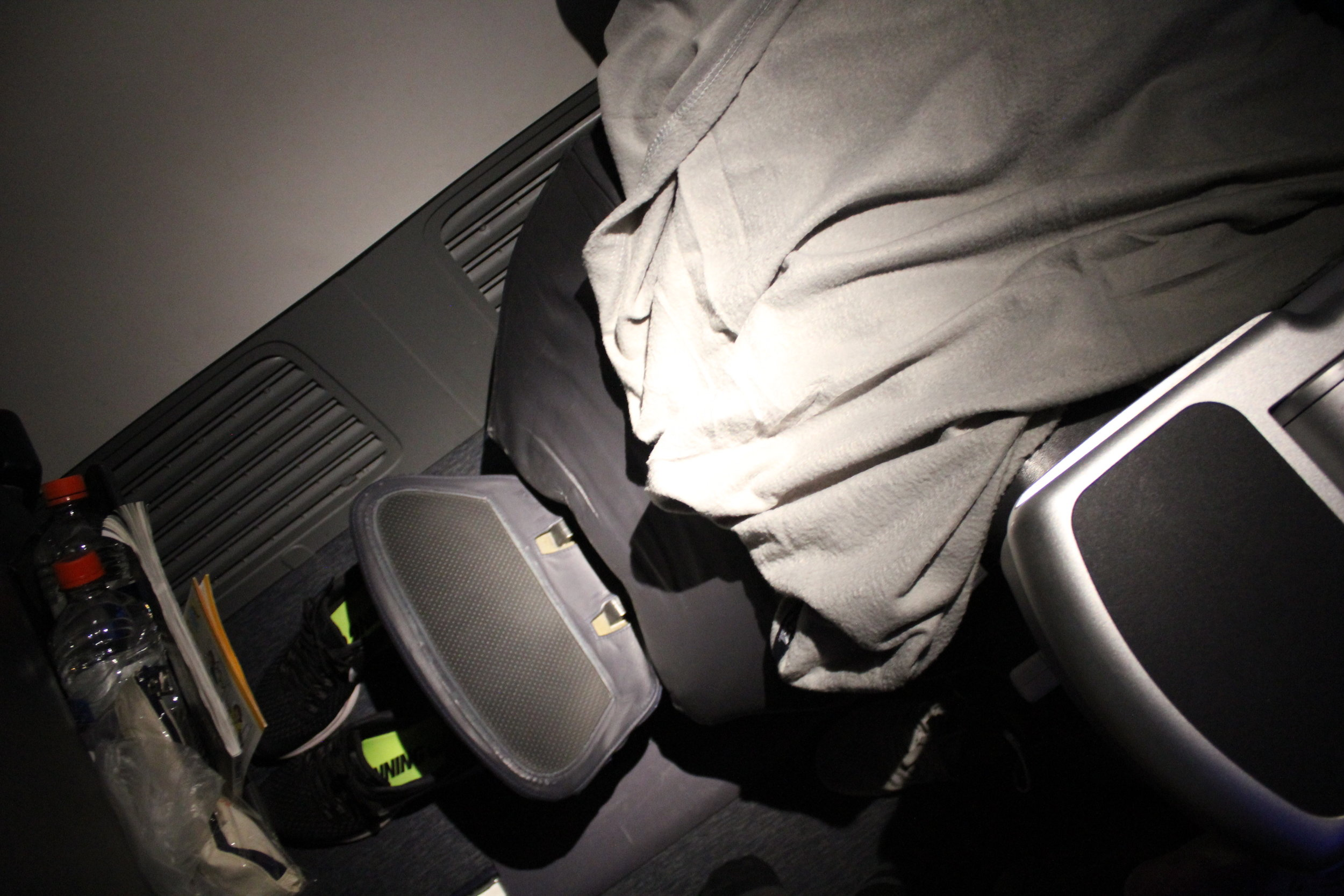 "Copa Airlines business class – Lower ""bed"""