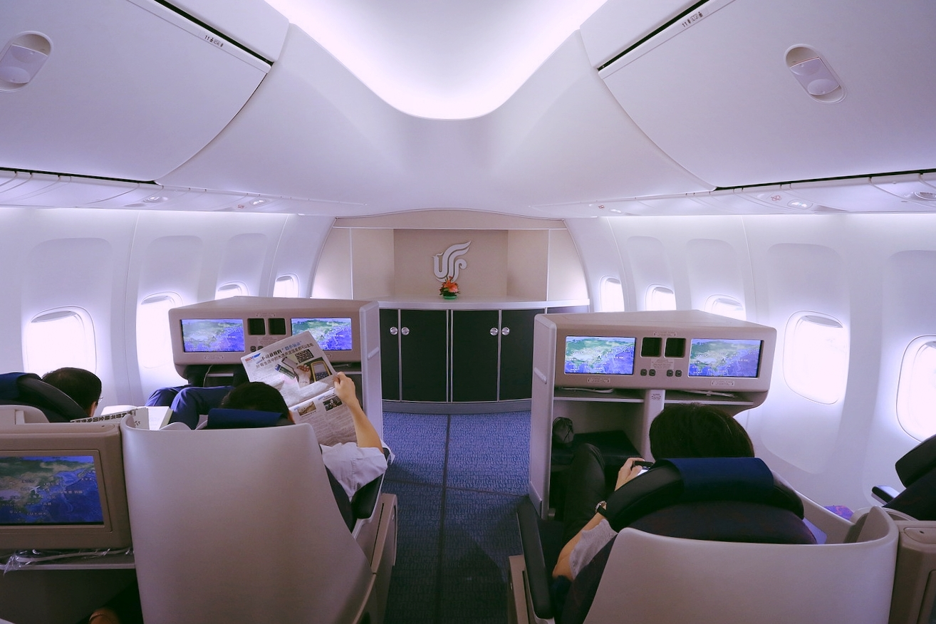 Air China domestic, my maiden First Class flight