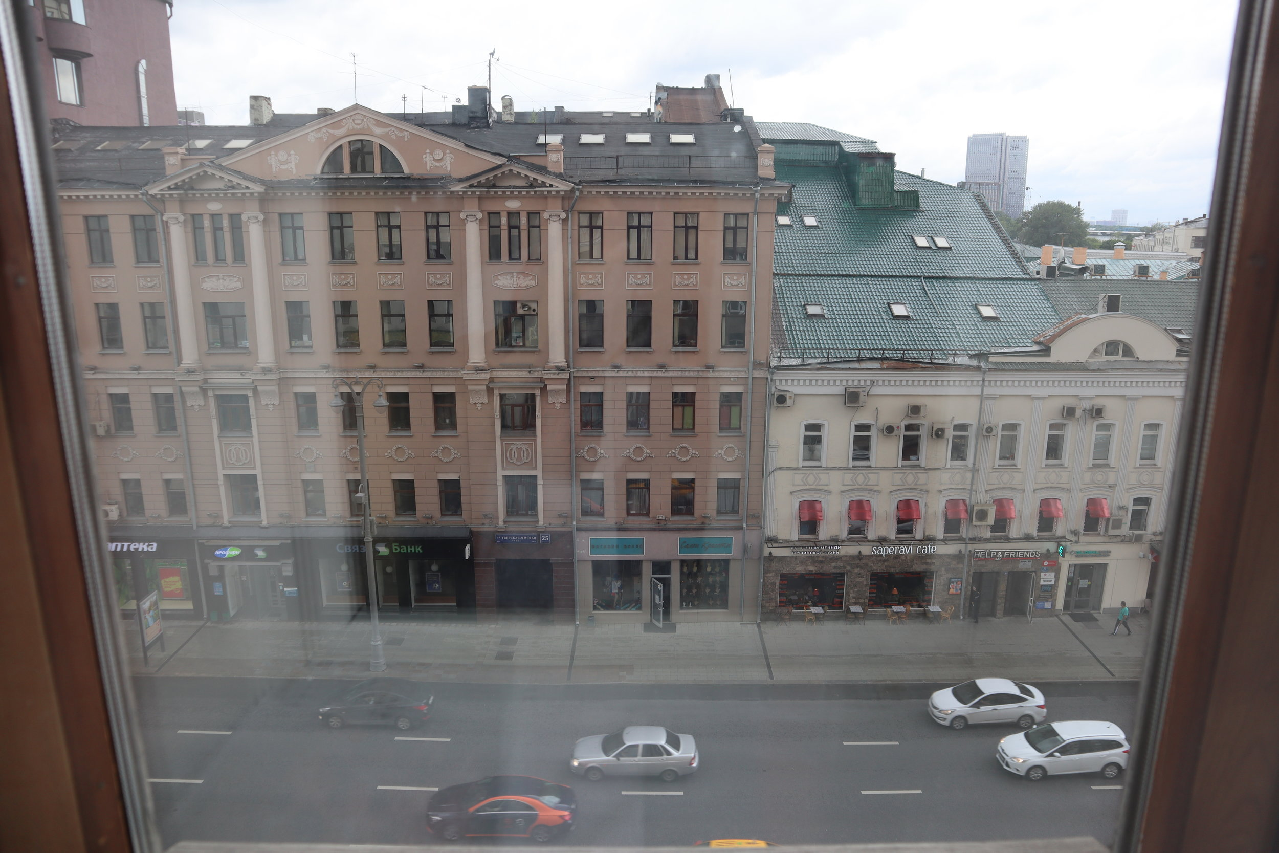 Marriott Moscow Tverskaya – View of Tverskaya Street