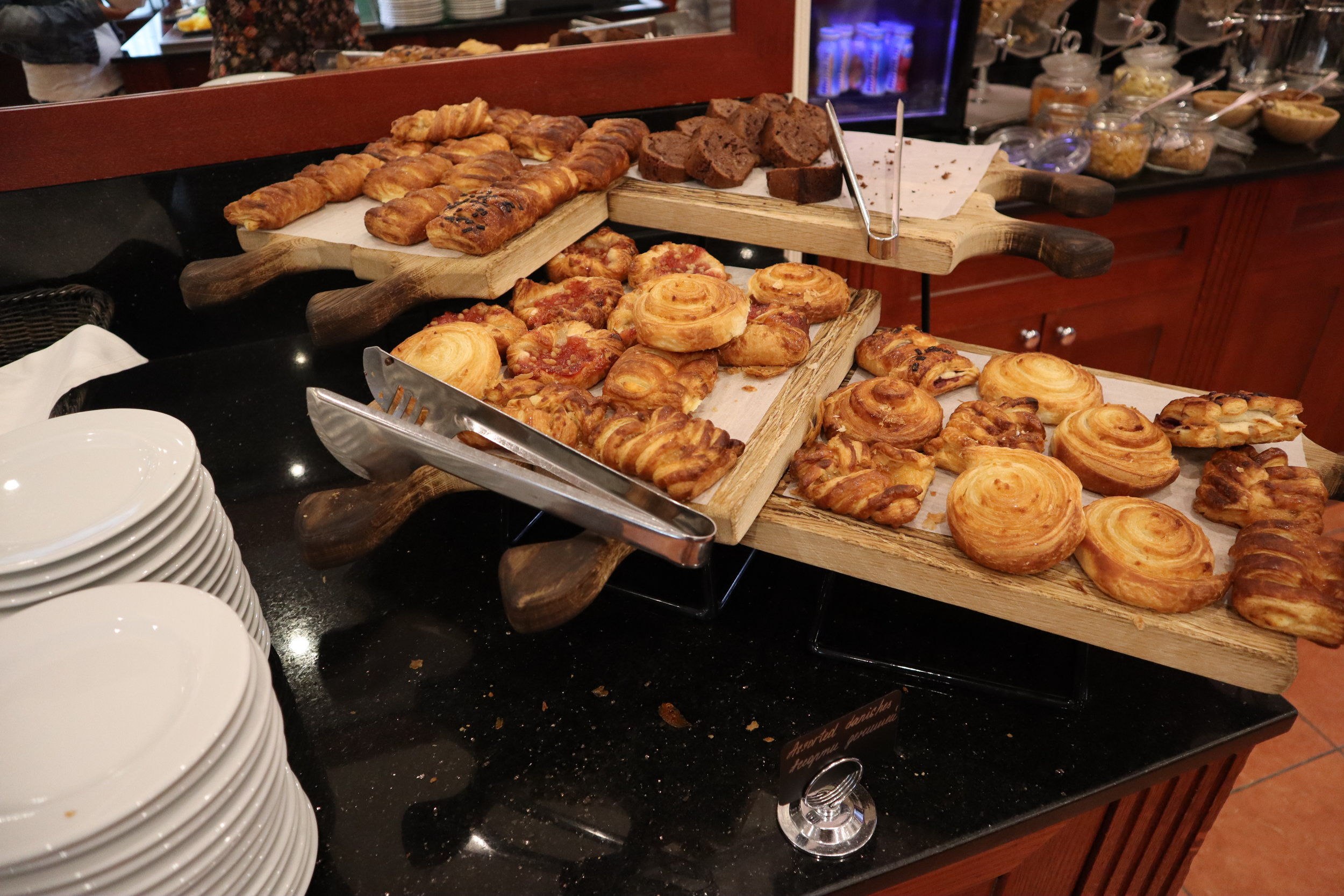Marriott Moscow Tverskaya – Breakfast pastries