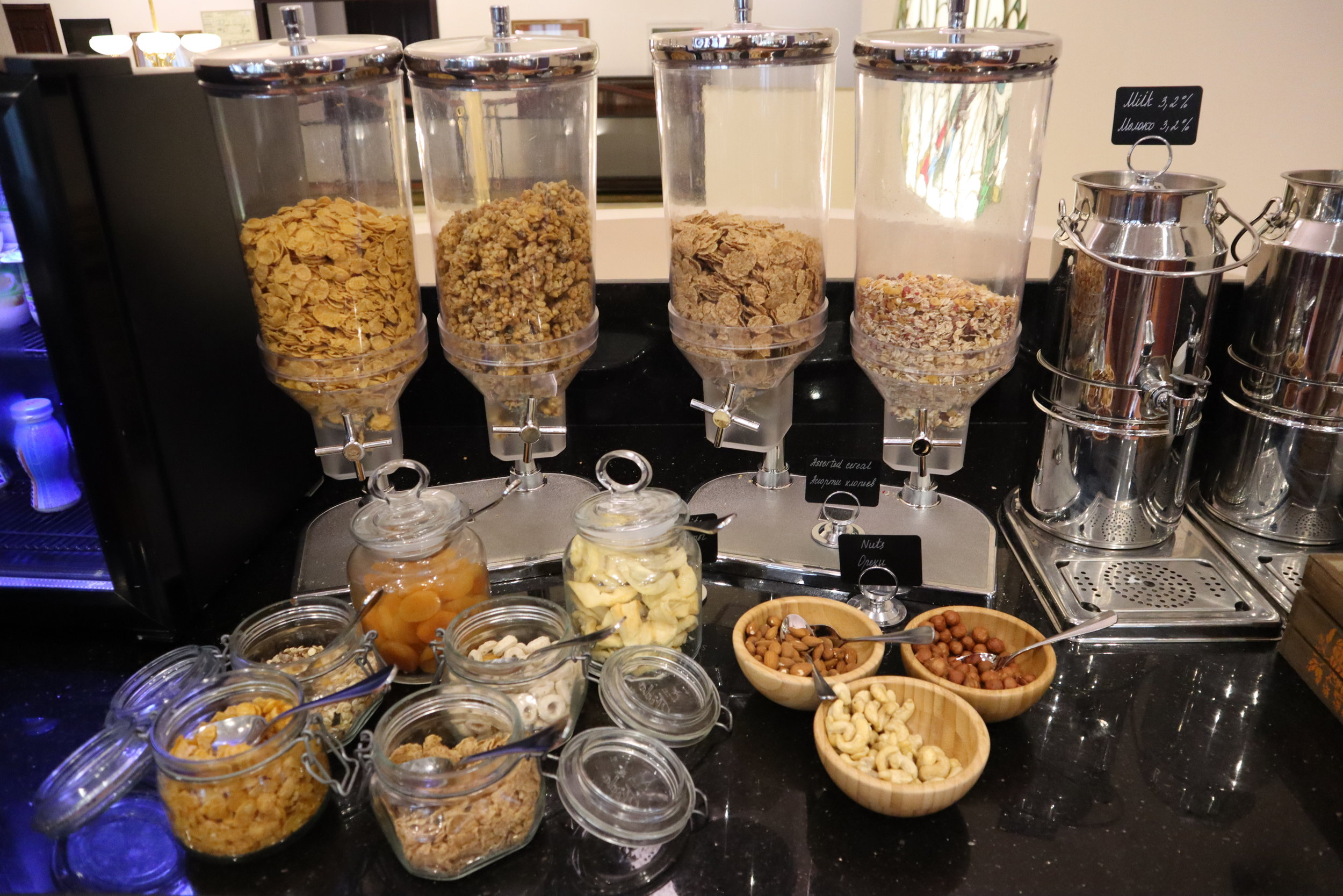 Marriott Moscow Tverskaya – Breakfast cereals