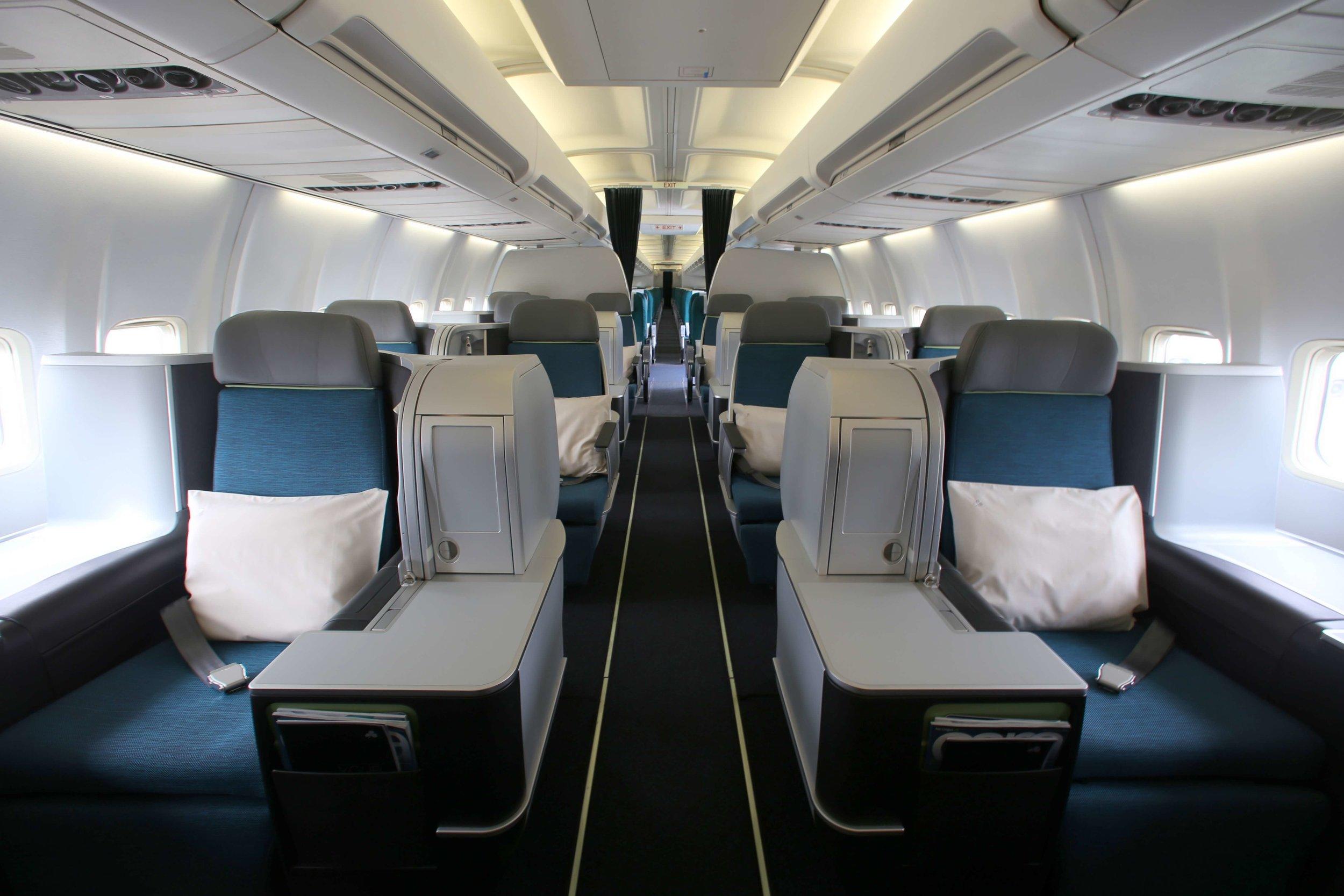 Aer Lingus A321LR business class