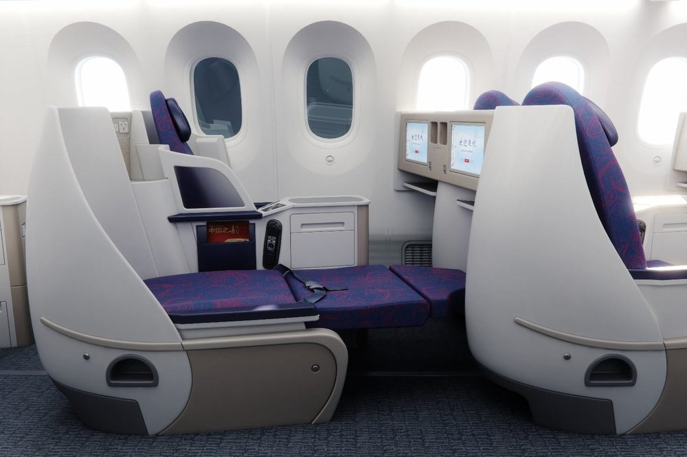 Air China 787 business class