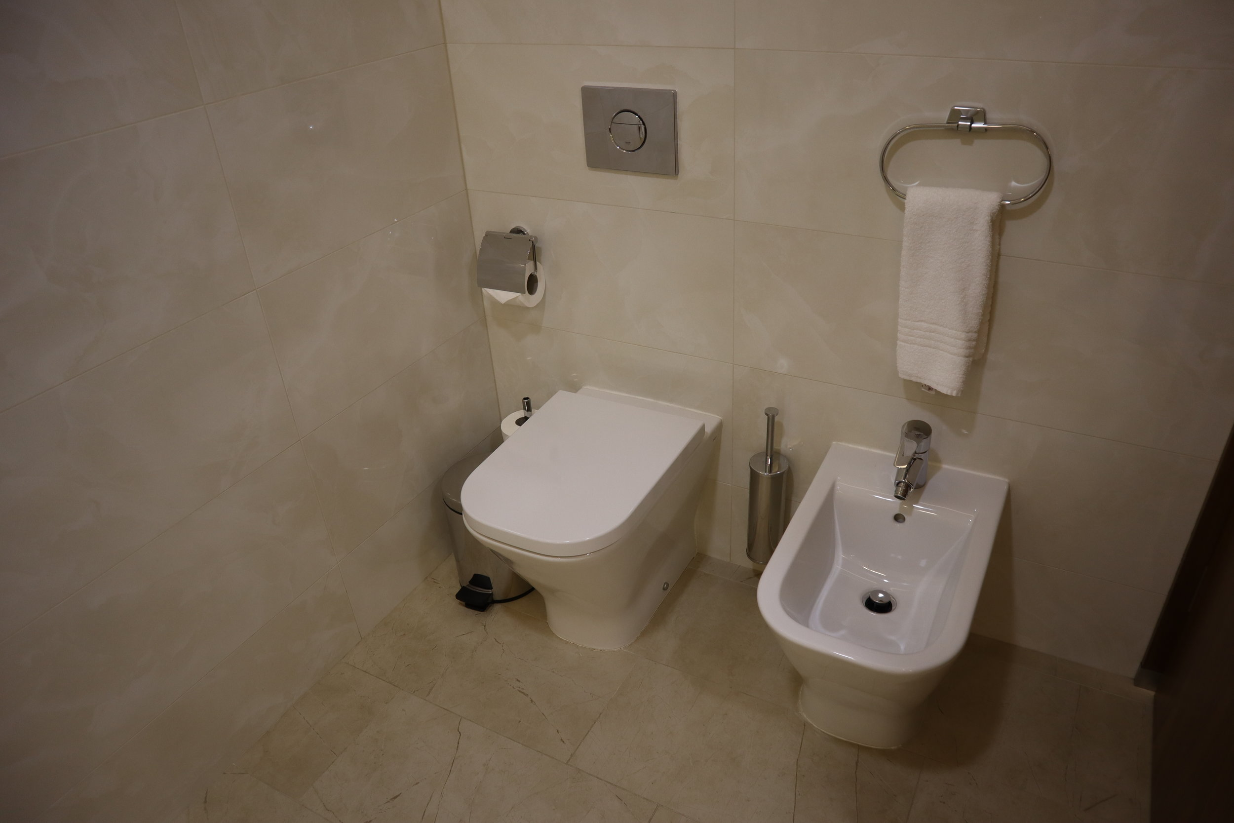 Marriott Novosibirsk – Toilet and bidet