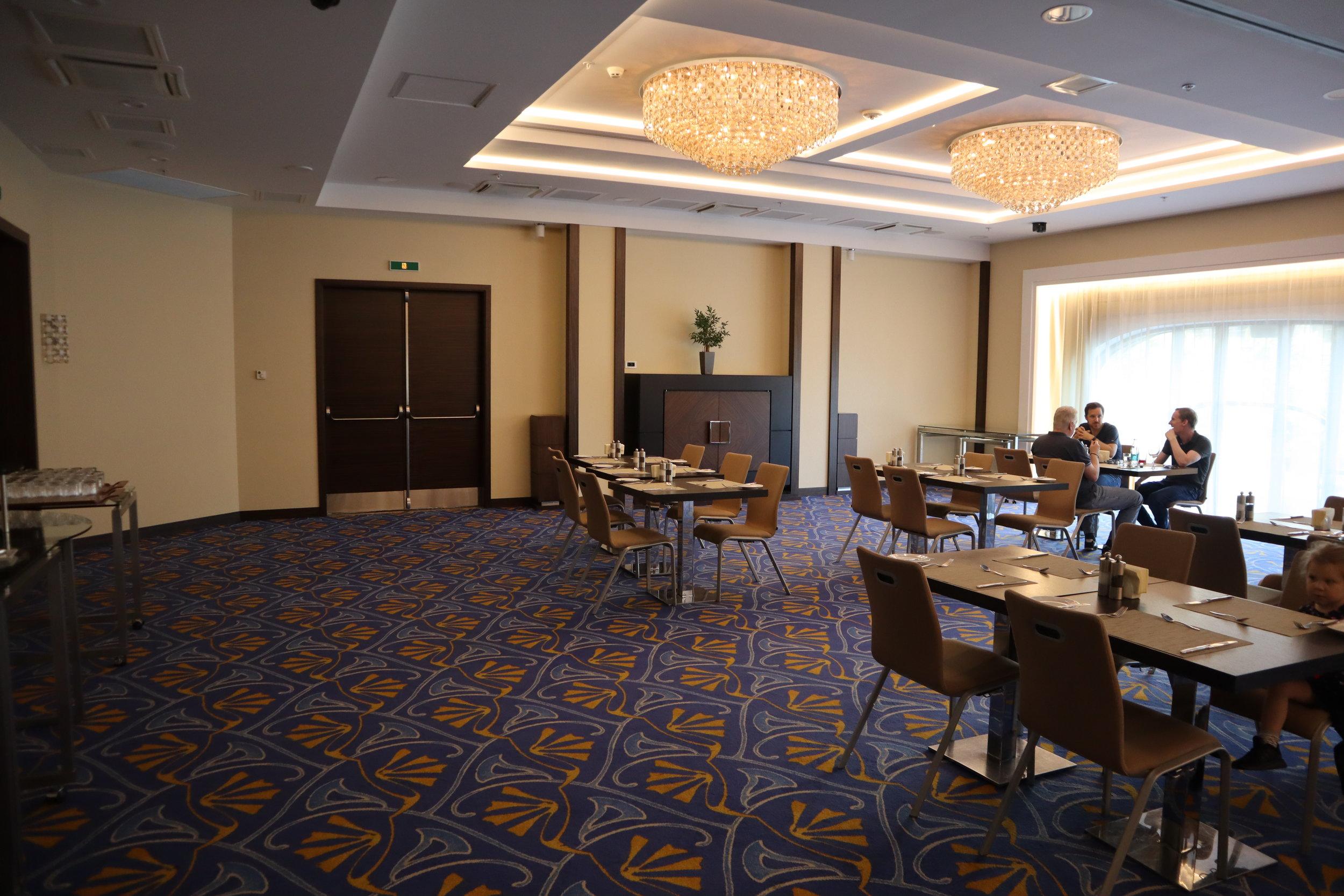 Marriott Novosibirsk – Conference room dining area