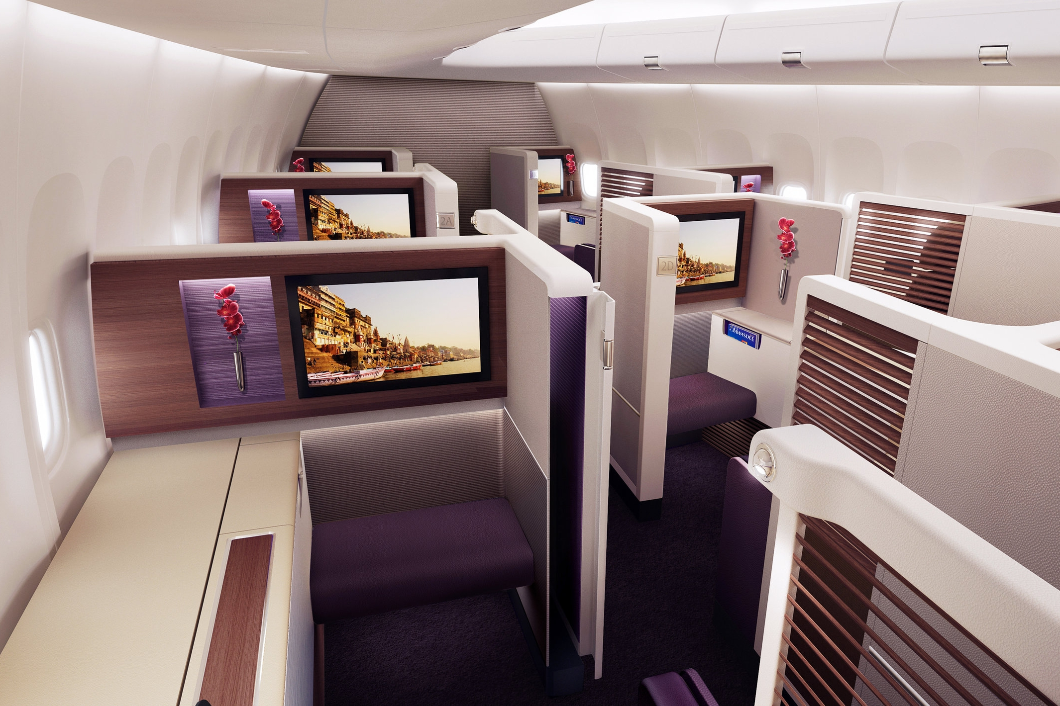 Thai Airways 747 First Class