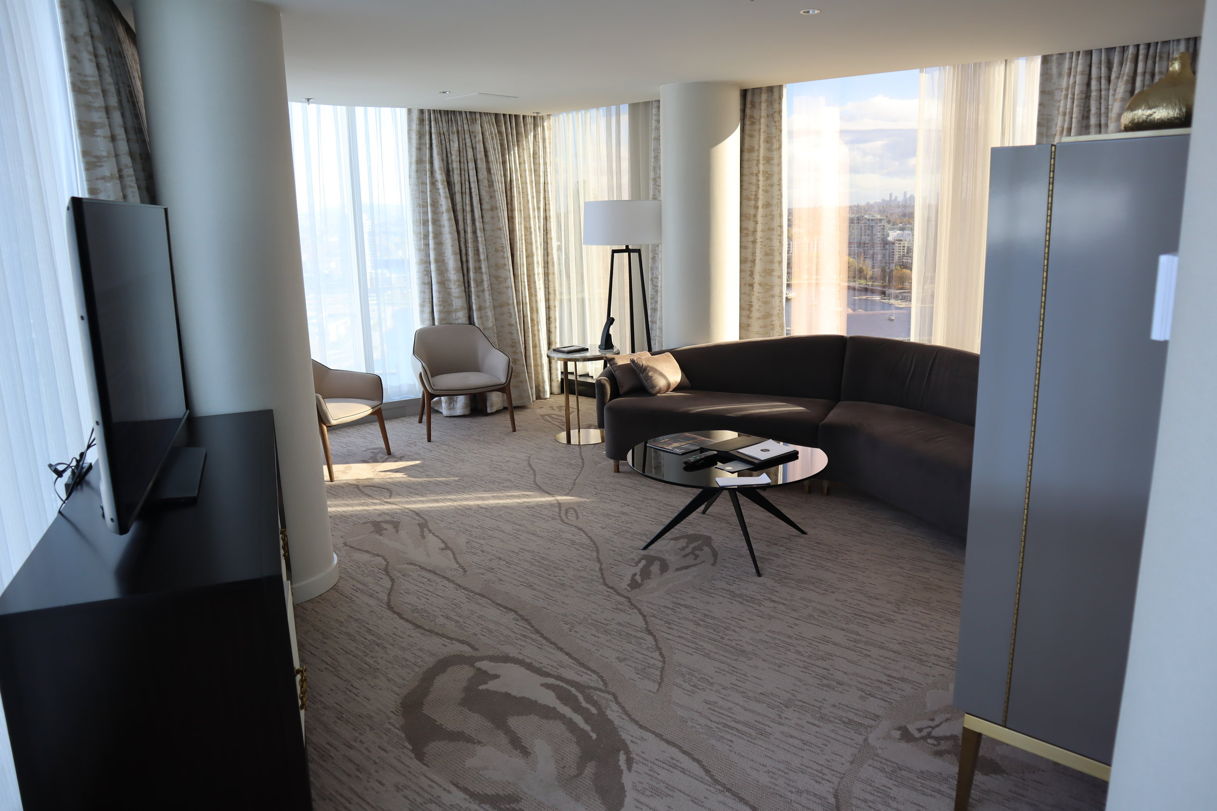 One-bedroom suite at the JW Marriott Parq Vancouver